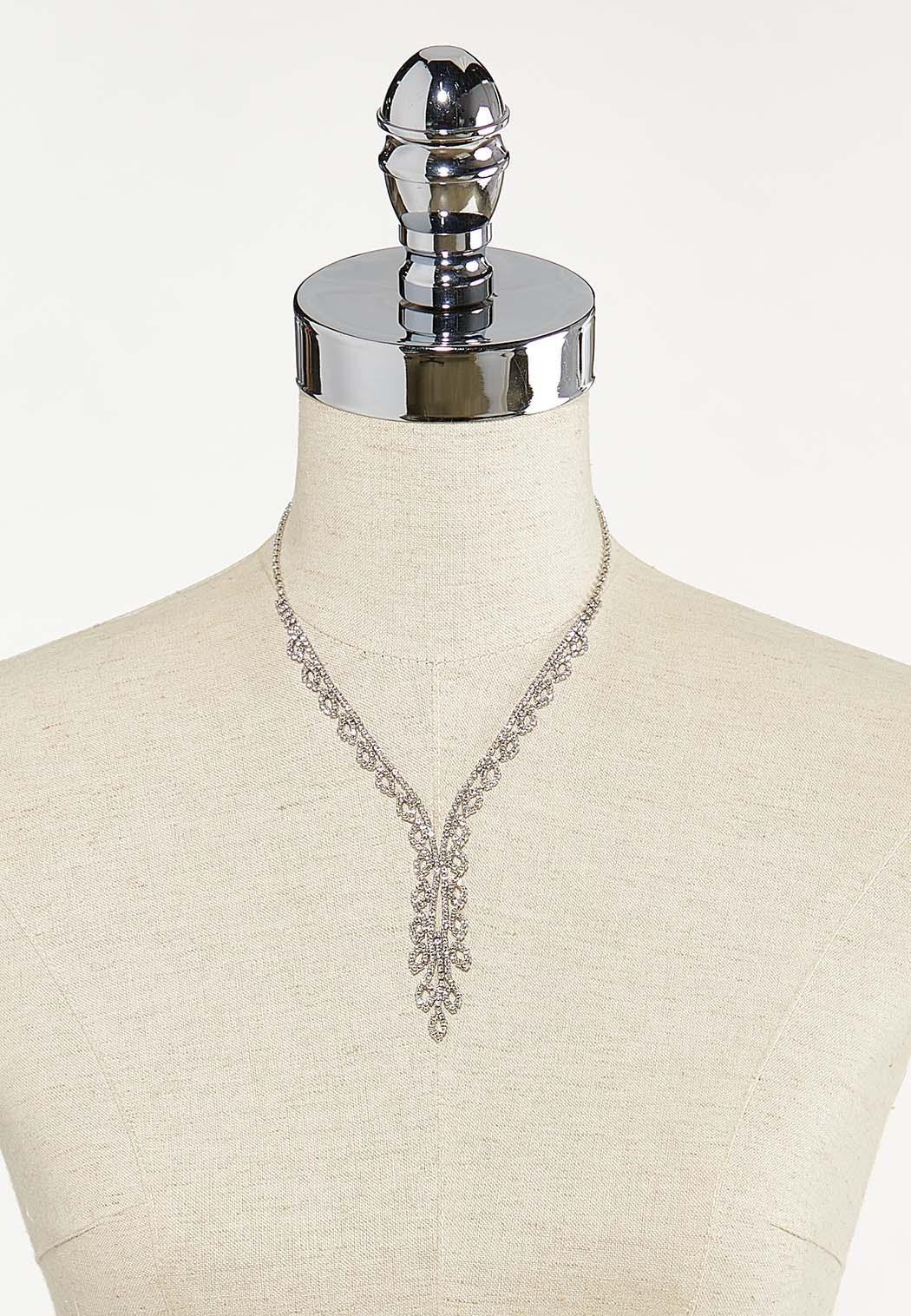 Rhinestone Y-Necklace (Item #44704418)