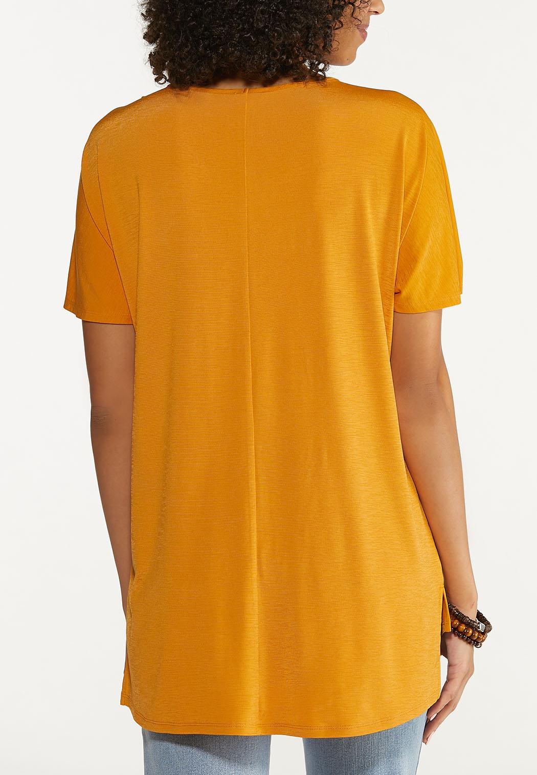 Cinched Sleeve Top (Item #44704459)
