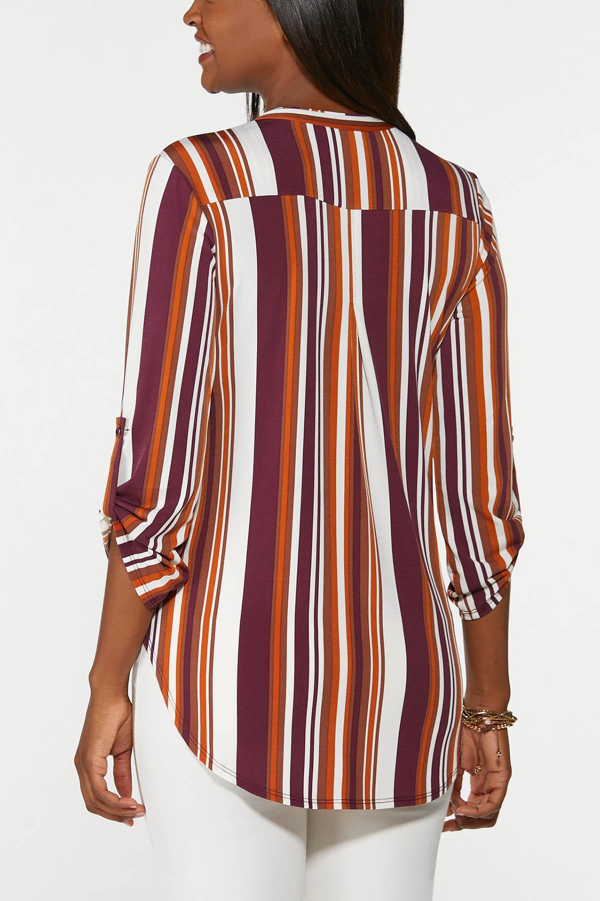 Caramel Apple Stripe Top (Item #44705638)