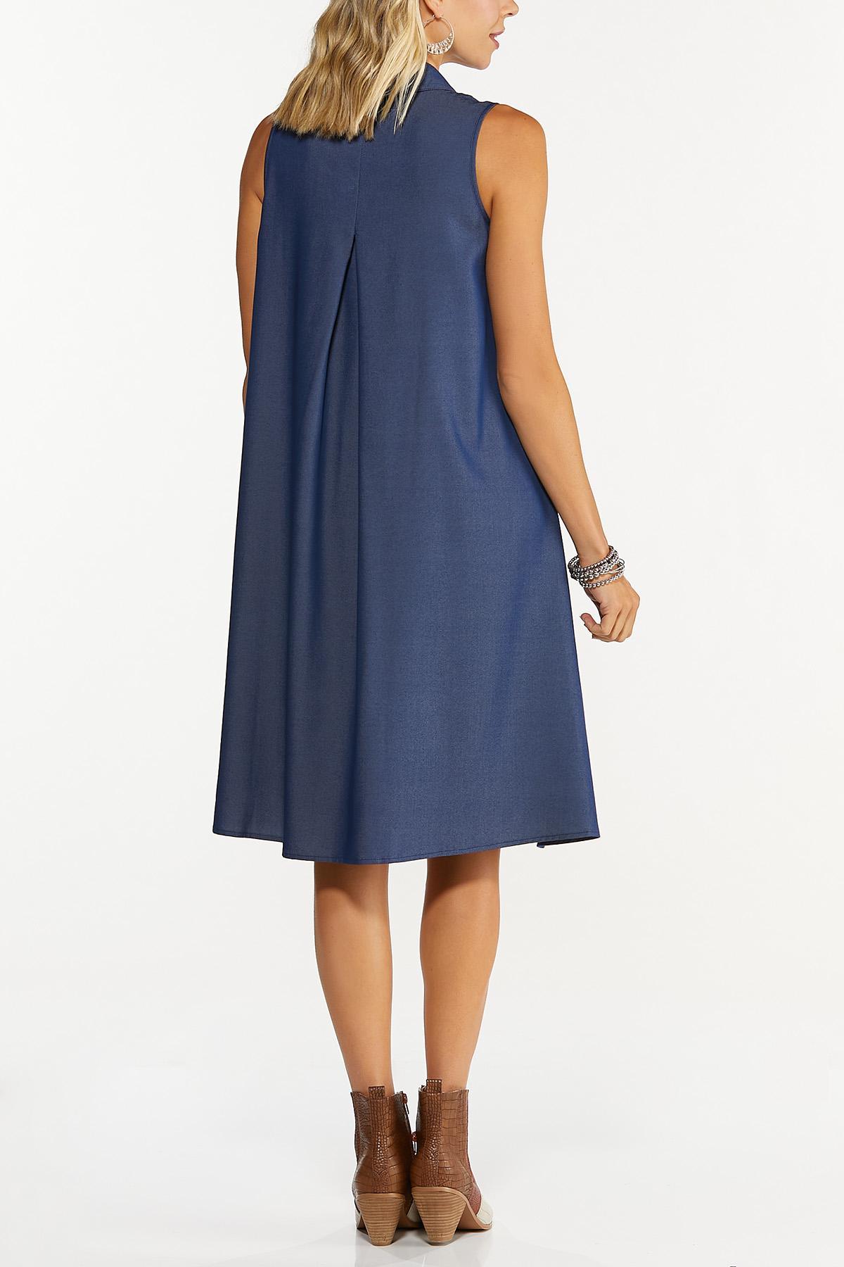 Chambray Swing Dress (Item #44707906)
