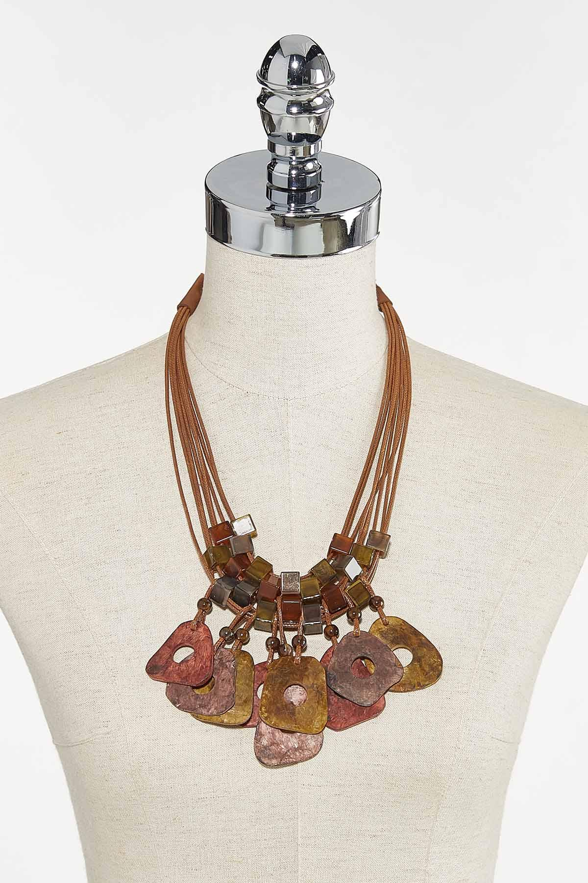 Shades Of Autumn Cord Necklace (Item #44710938)