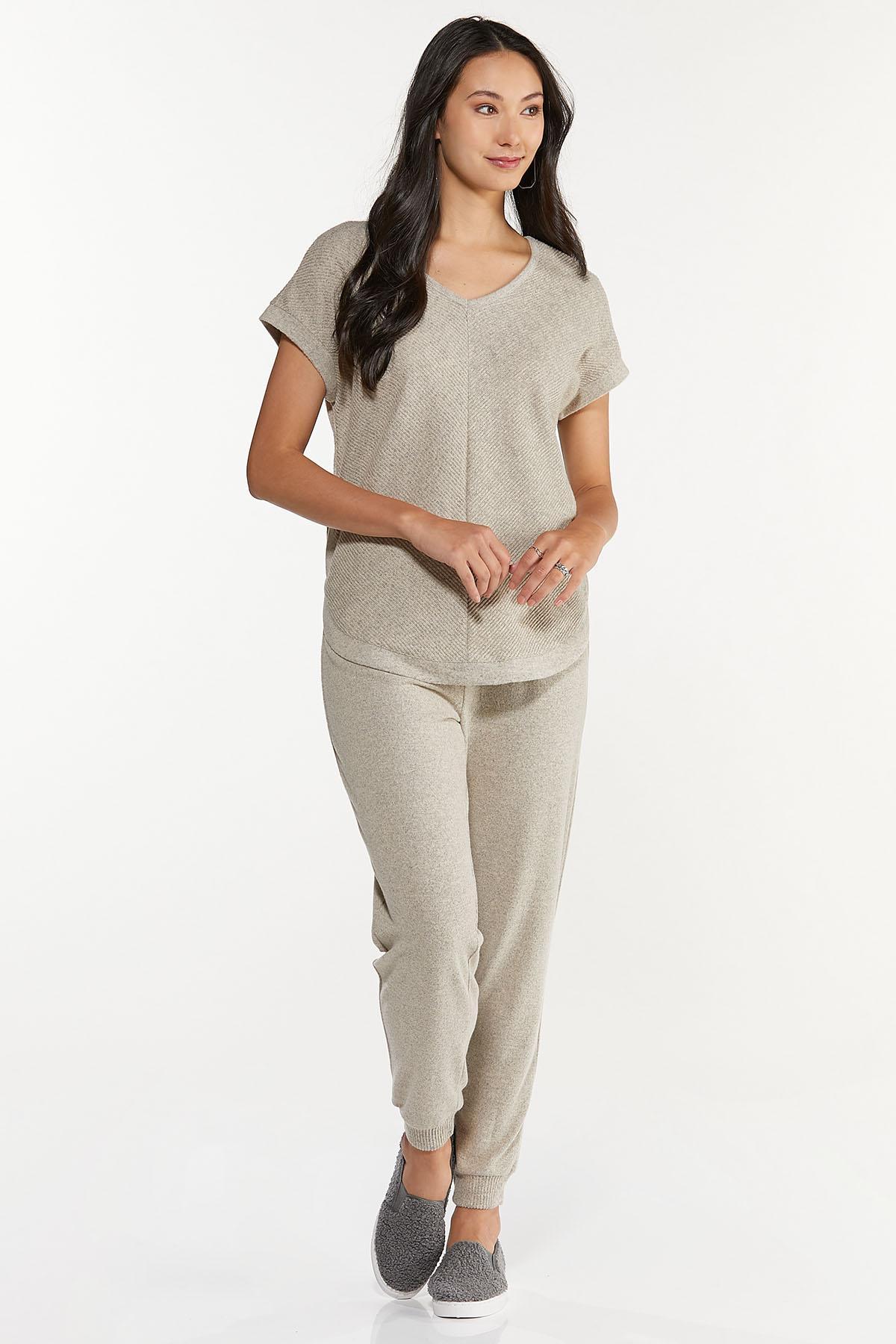 Oatmeal Ribbed Pants (Item #44711563)