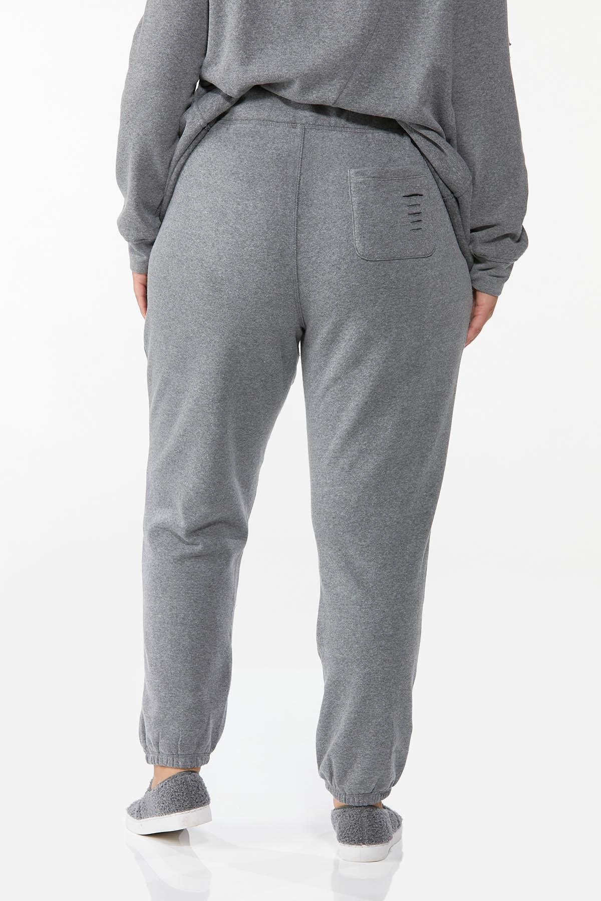 Plus Size Distressed Joggers (Item #44712305)