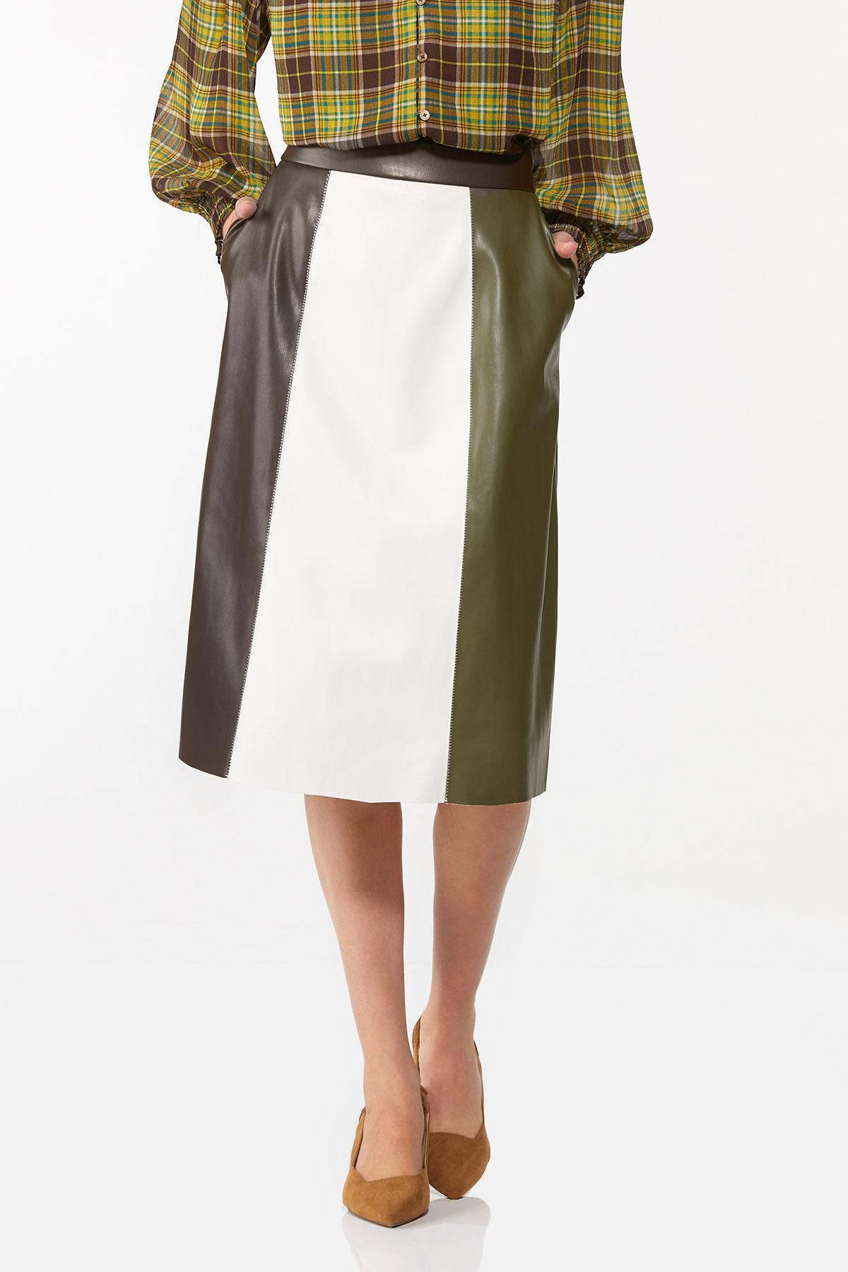 Faux Colorblock Skirt (Item #44713944)