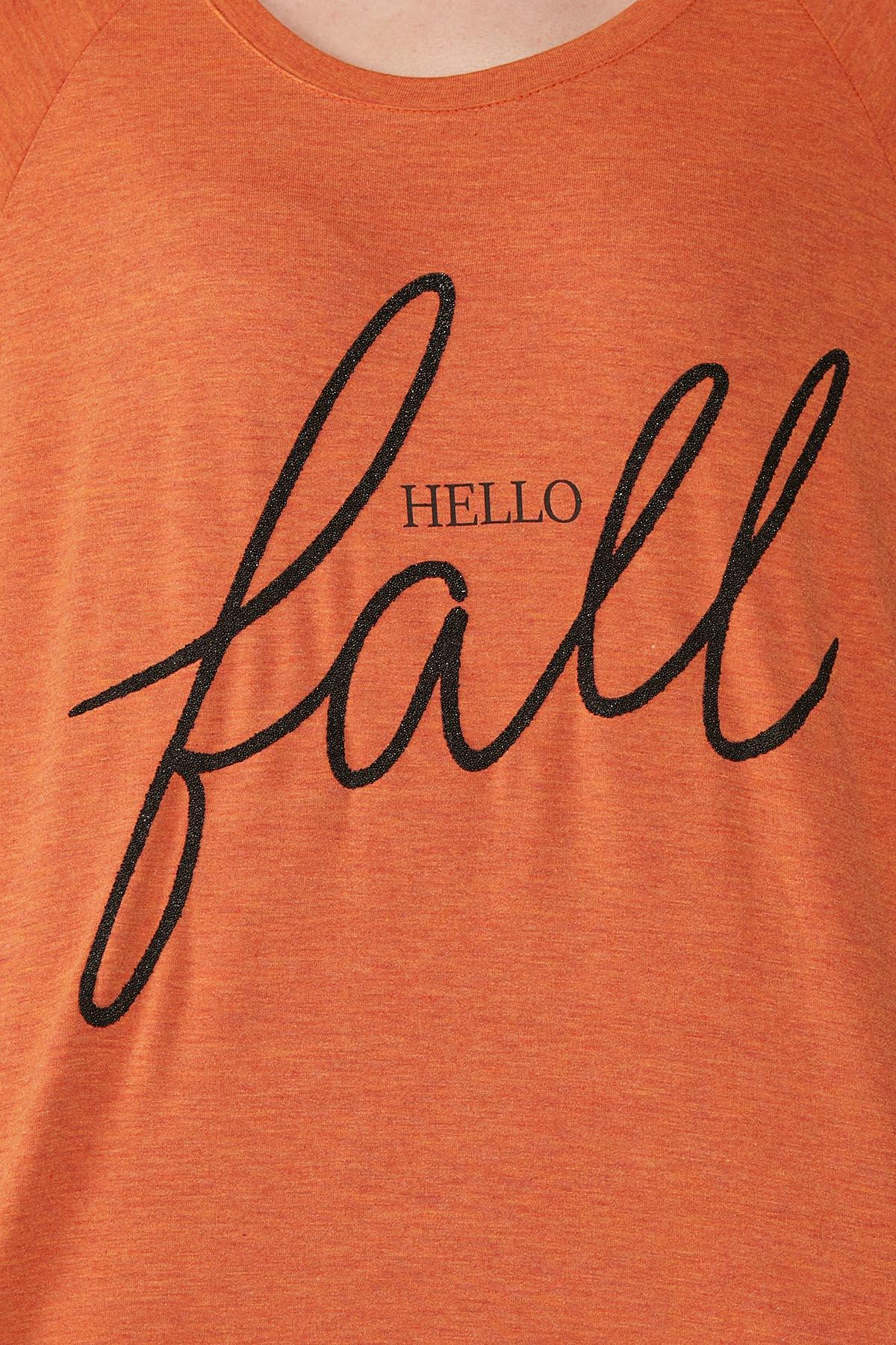 Plus Size Hello Fall Top (Item #44717432)