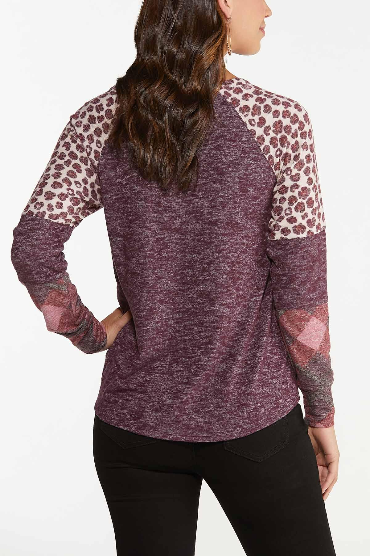 Plus Size Twisted Fall Favorites Top (Item #44717483)