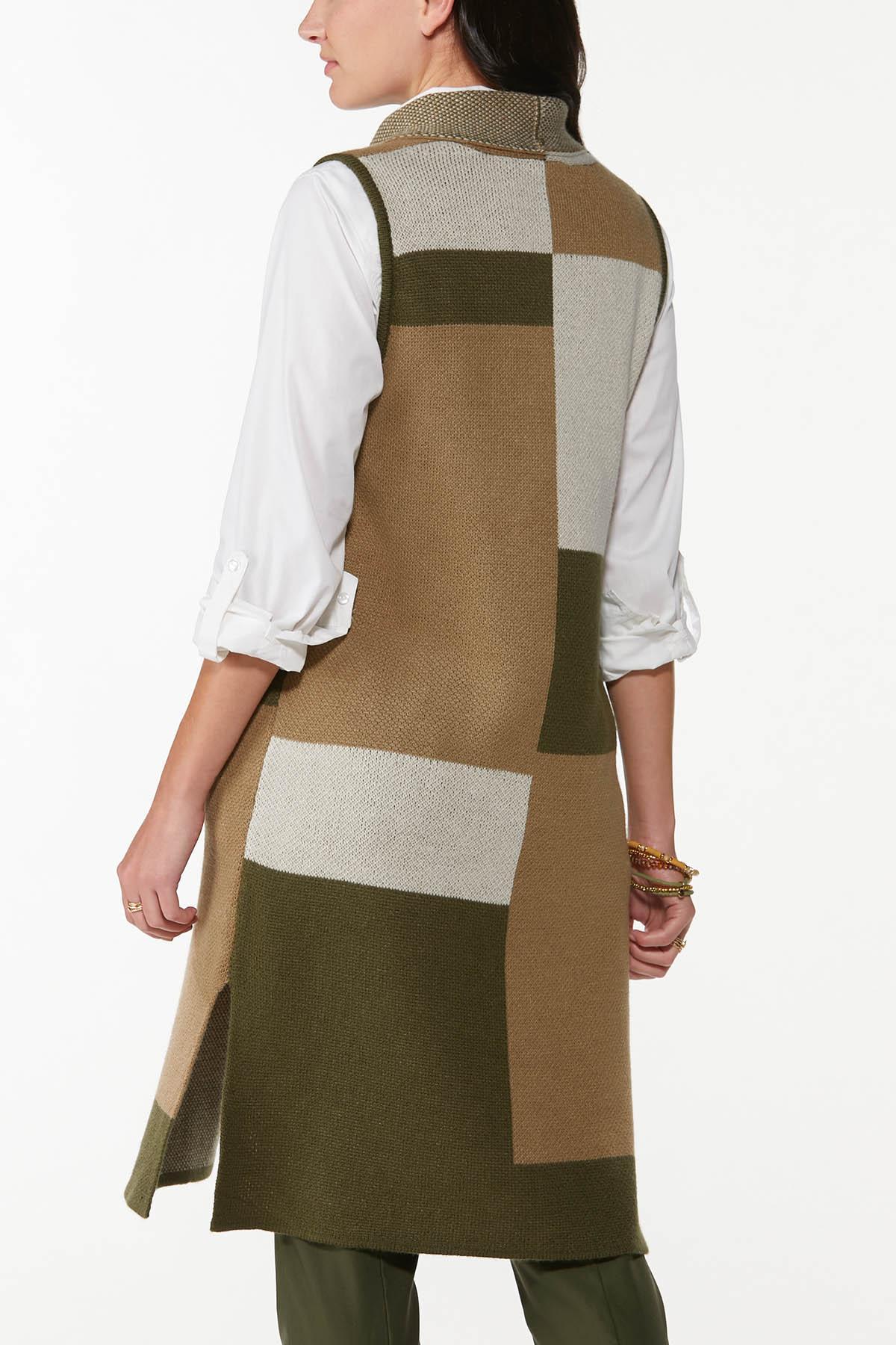 Colorblock Sleeveless Sweater (Item #44717670)