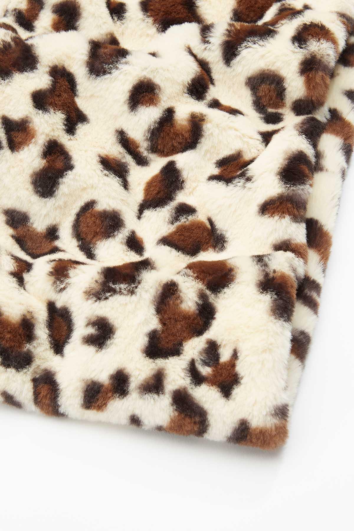 Fuzzy Leopard Scarf (Item #44717878)