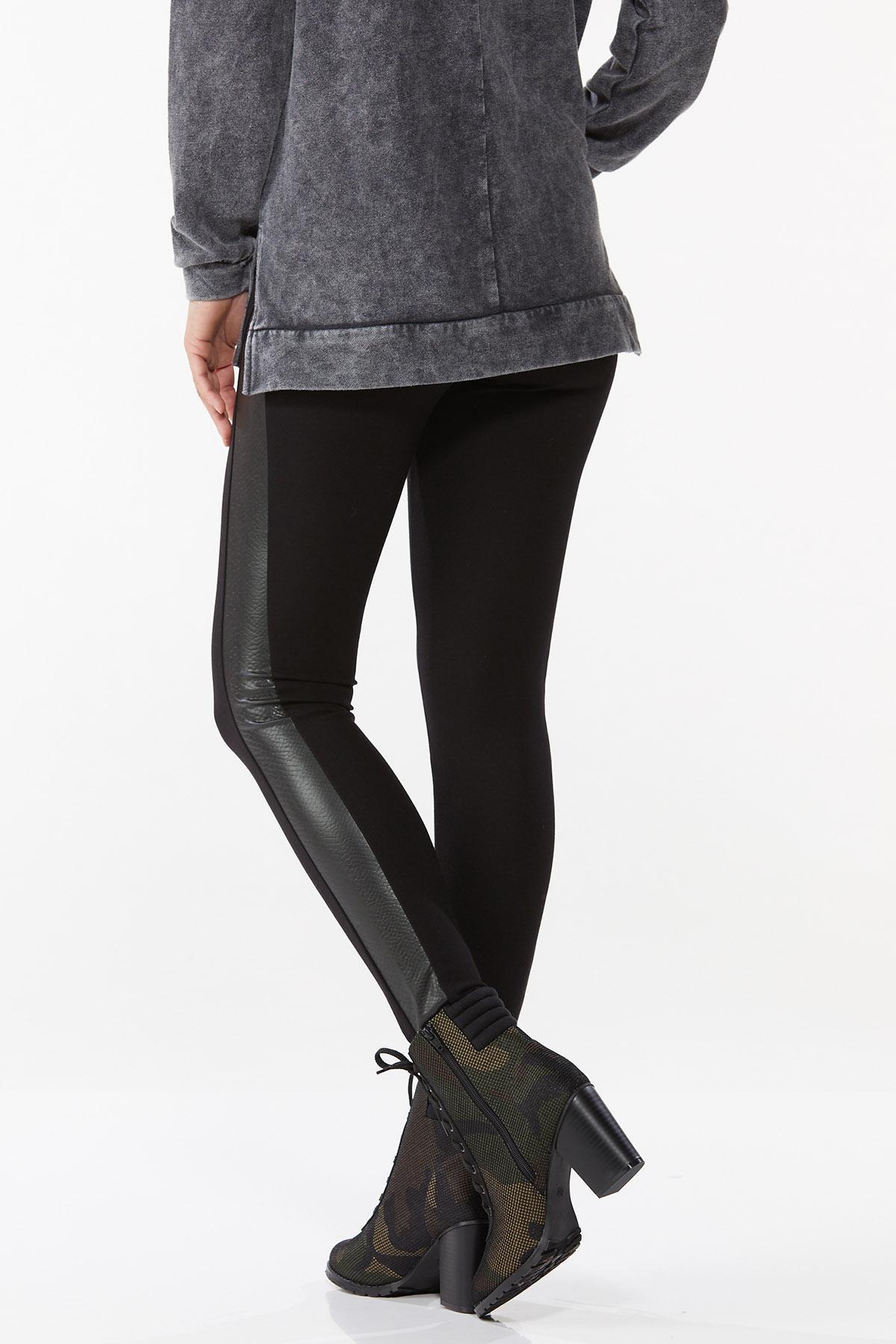 Croc Panel Leggings (Item #44718230)