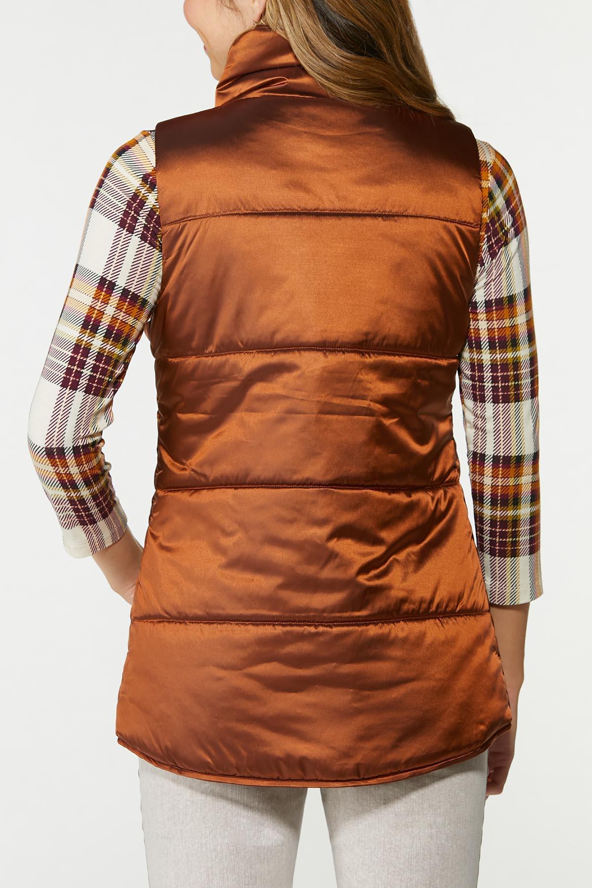 Bronze Puffer Vest (Item #44719138)