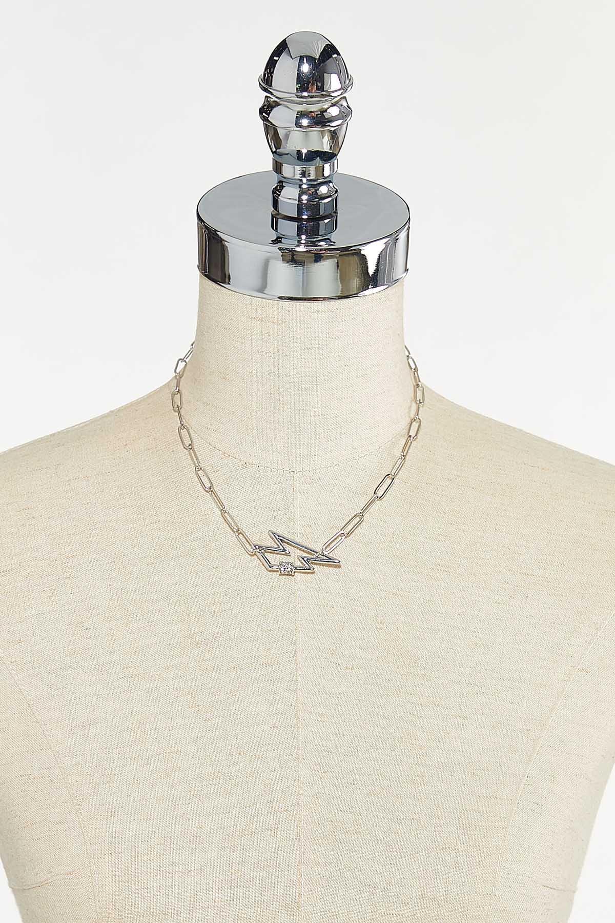 Lightning Bolt Link Necklace (Item #44721281)