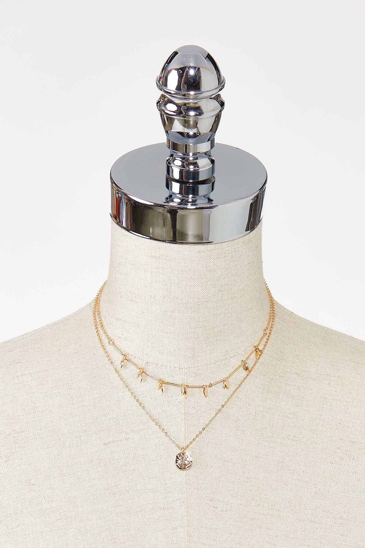 Bee Charm Layered Necklace (Item #44721692)