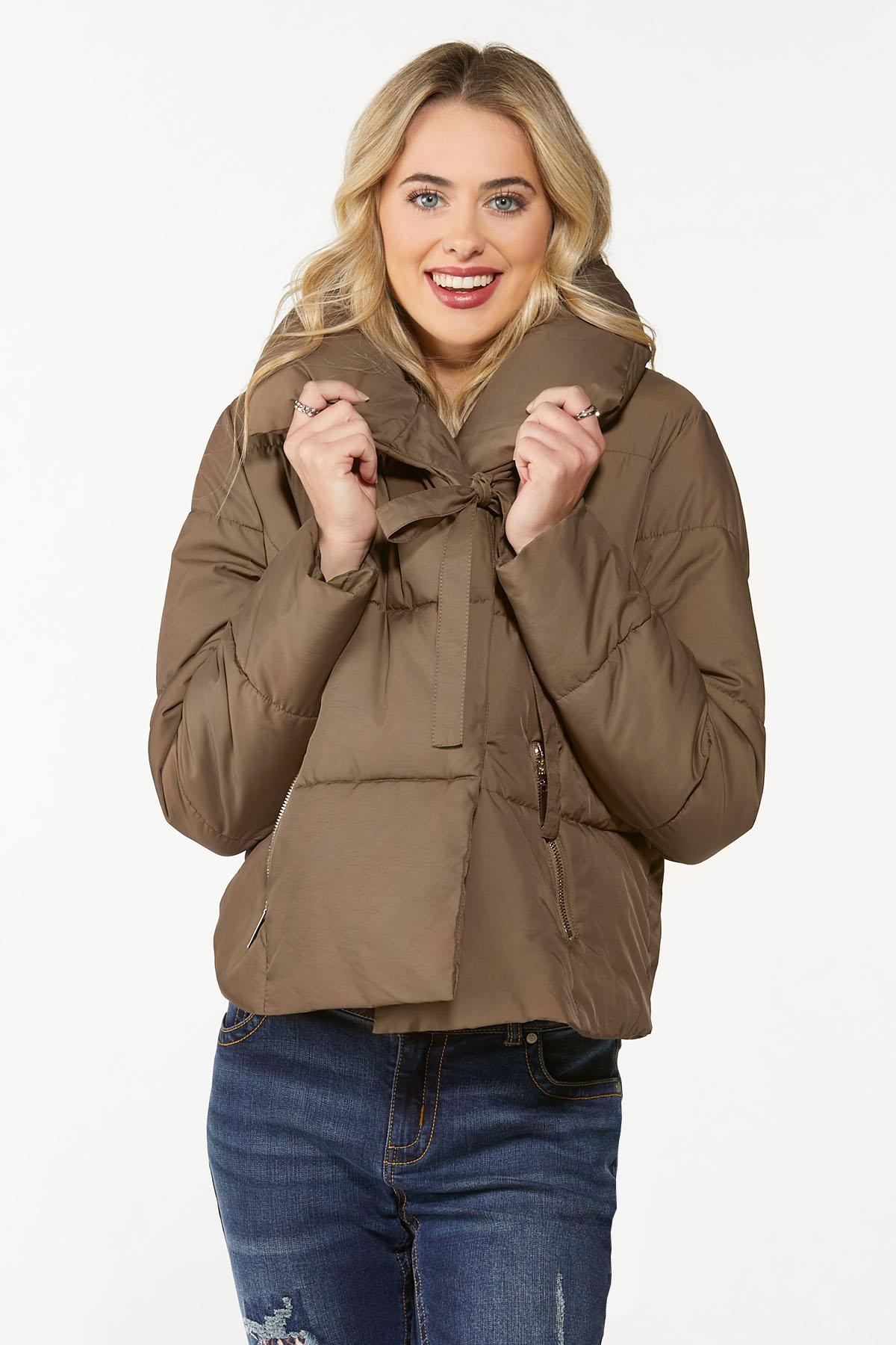 Brown Puffer Jacket (Item #44722183)
