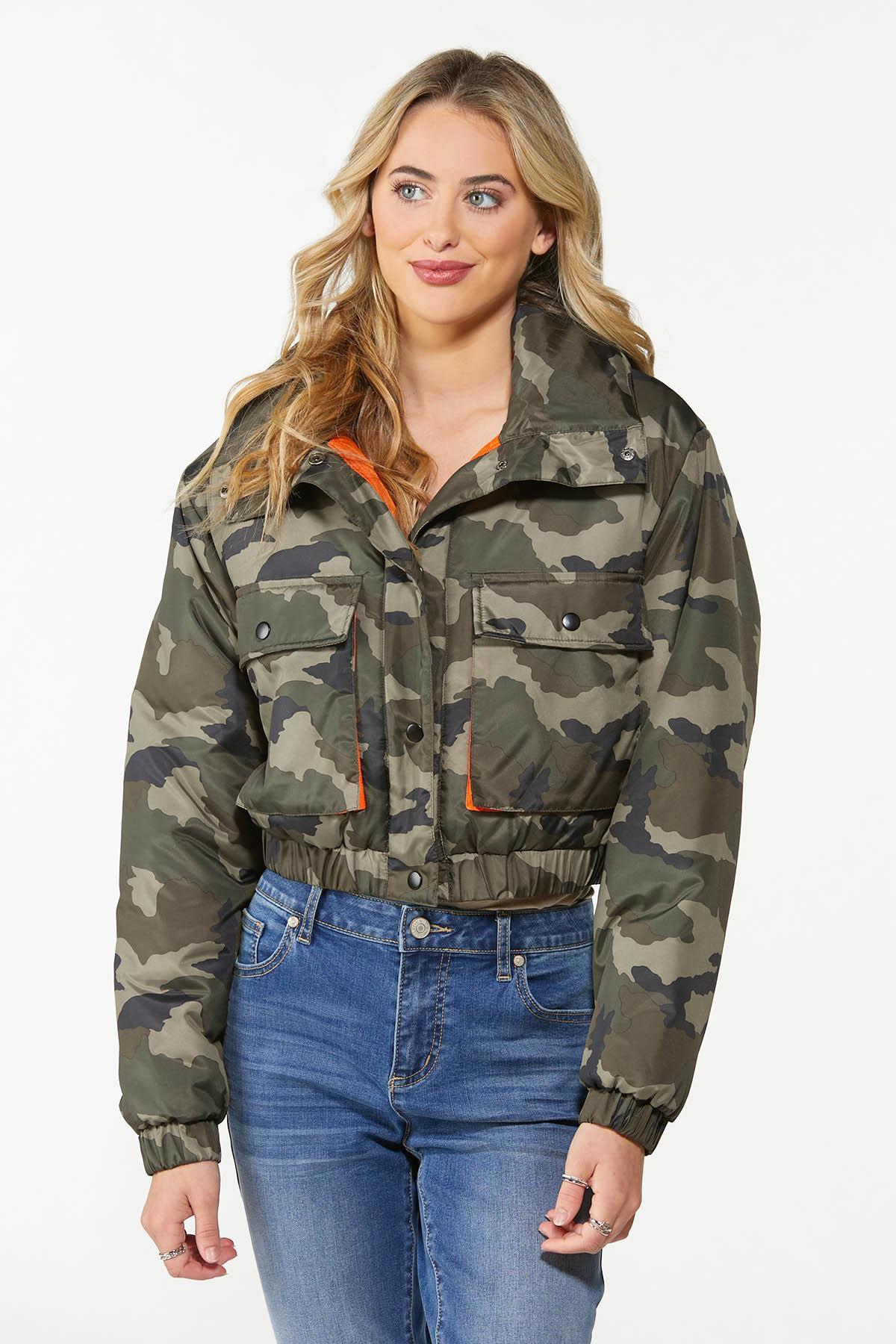 Camo Puffer Jacket (Item #44722311)