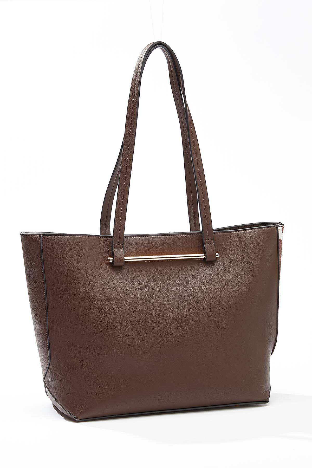 Cow Panel Bag-In-Bag Tote (Item #44722915)