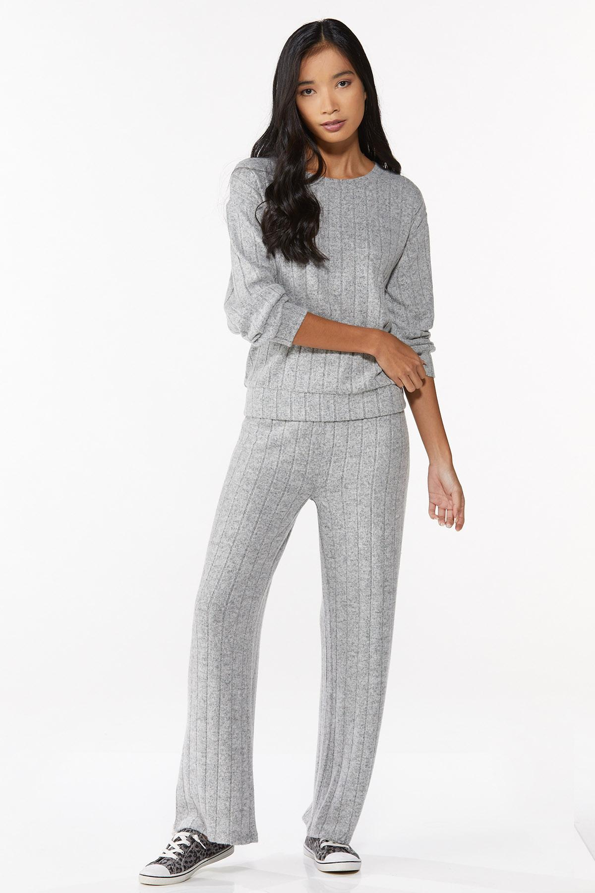 Ribbed Knit Pants (Item #44723852)