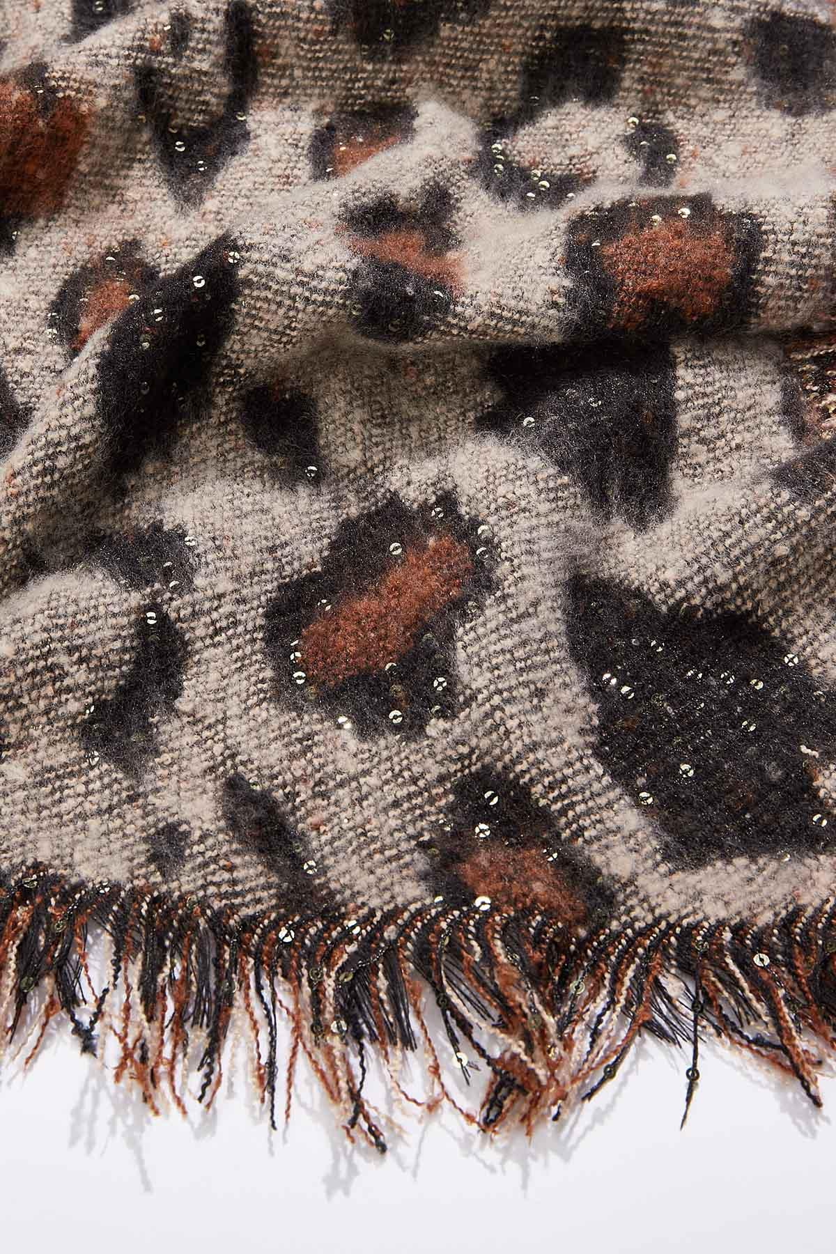 Leopard Sequined Scarf (Item #44724243)