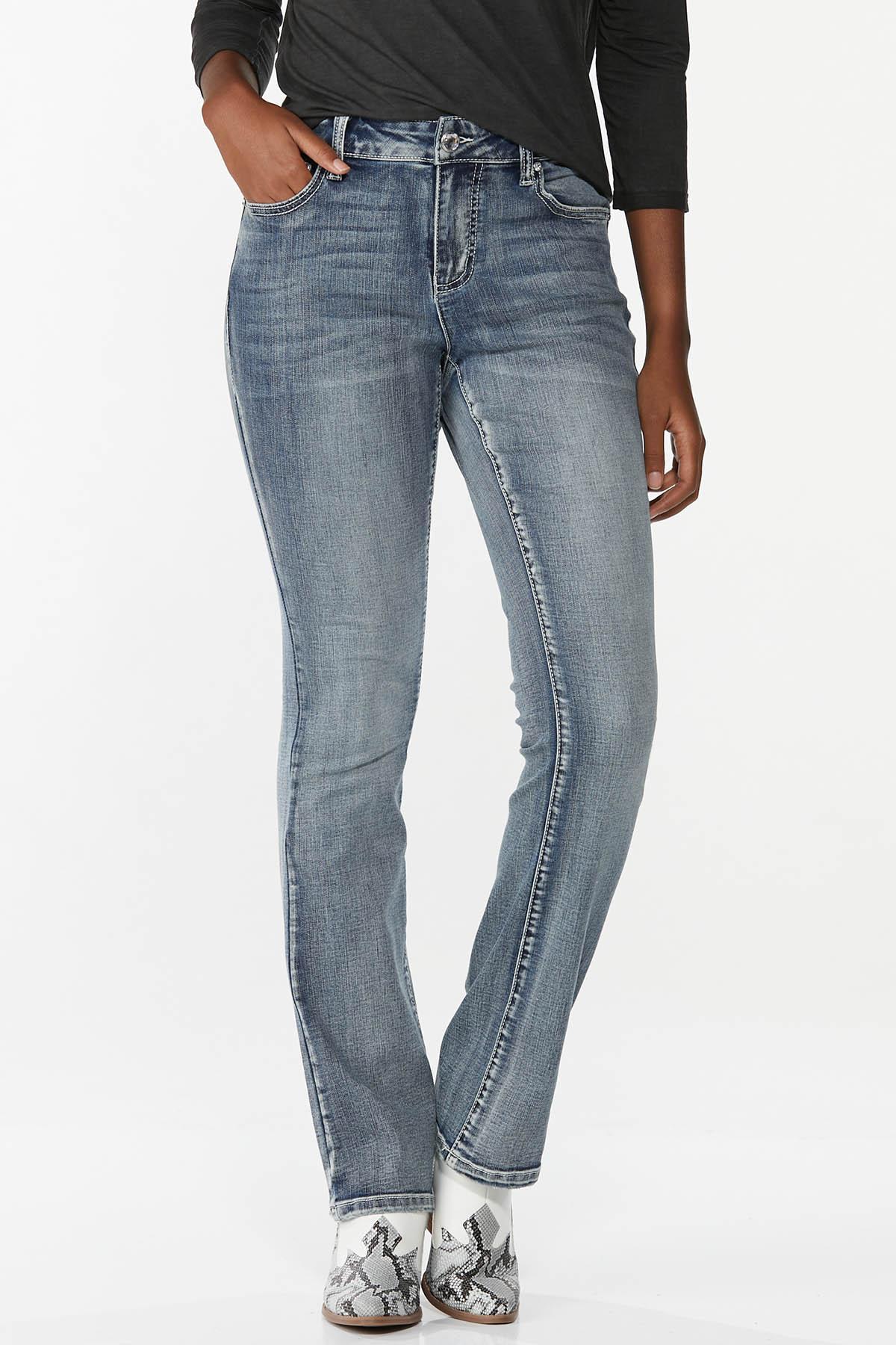 Petite Embellished Curvy Jeans (Item #44726417)