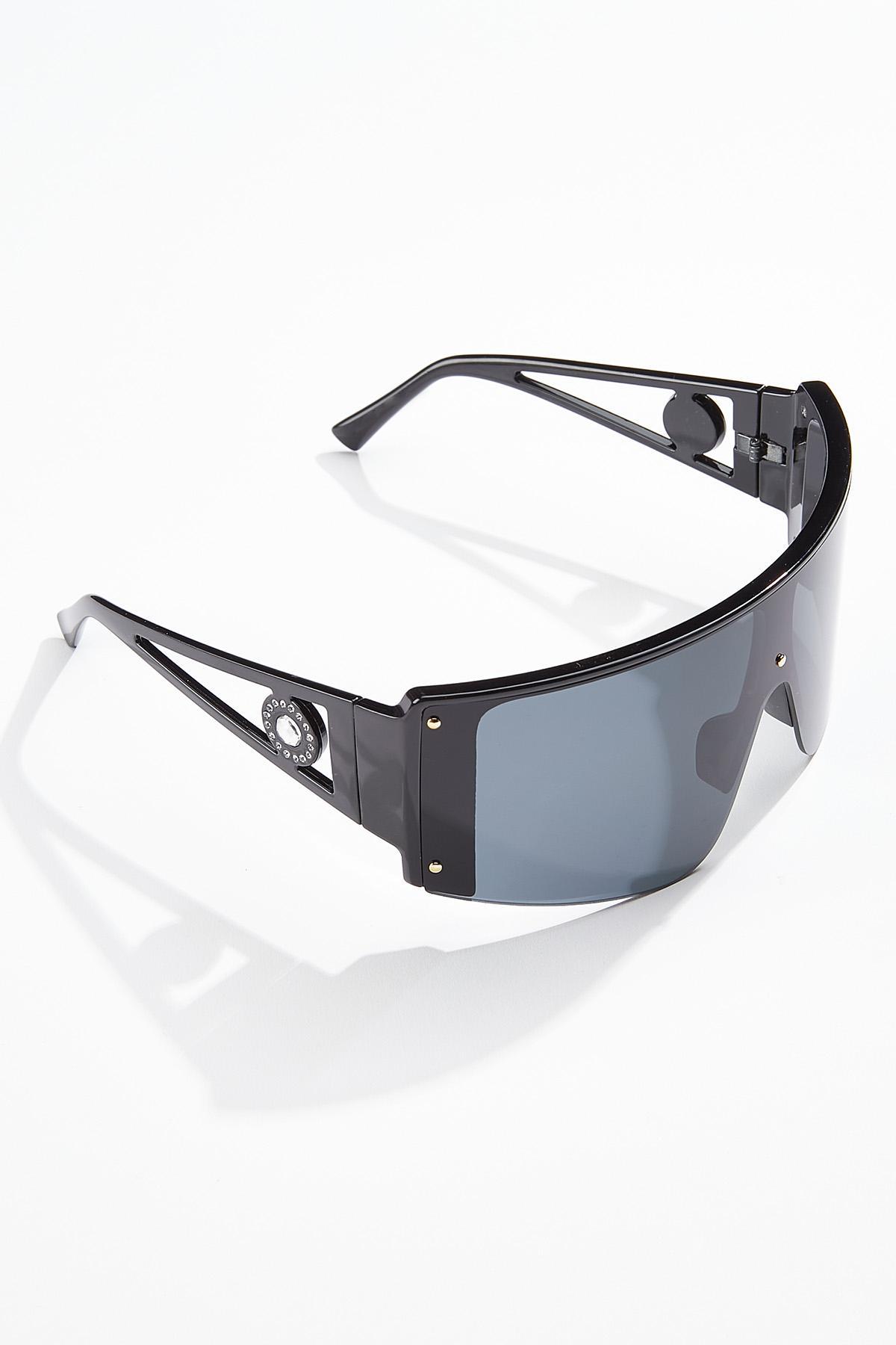Black Shield Sunglasses (Item #44730831)