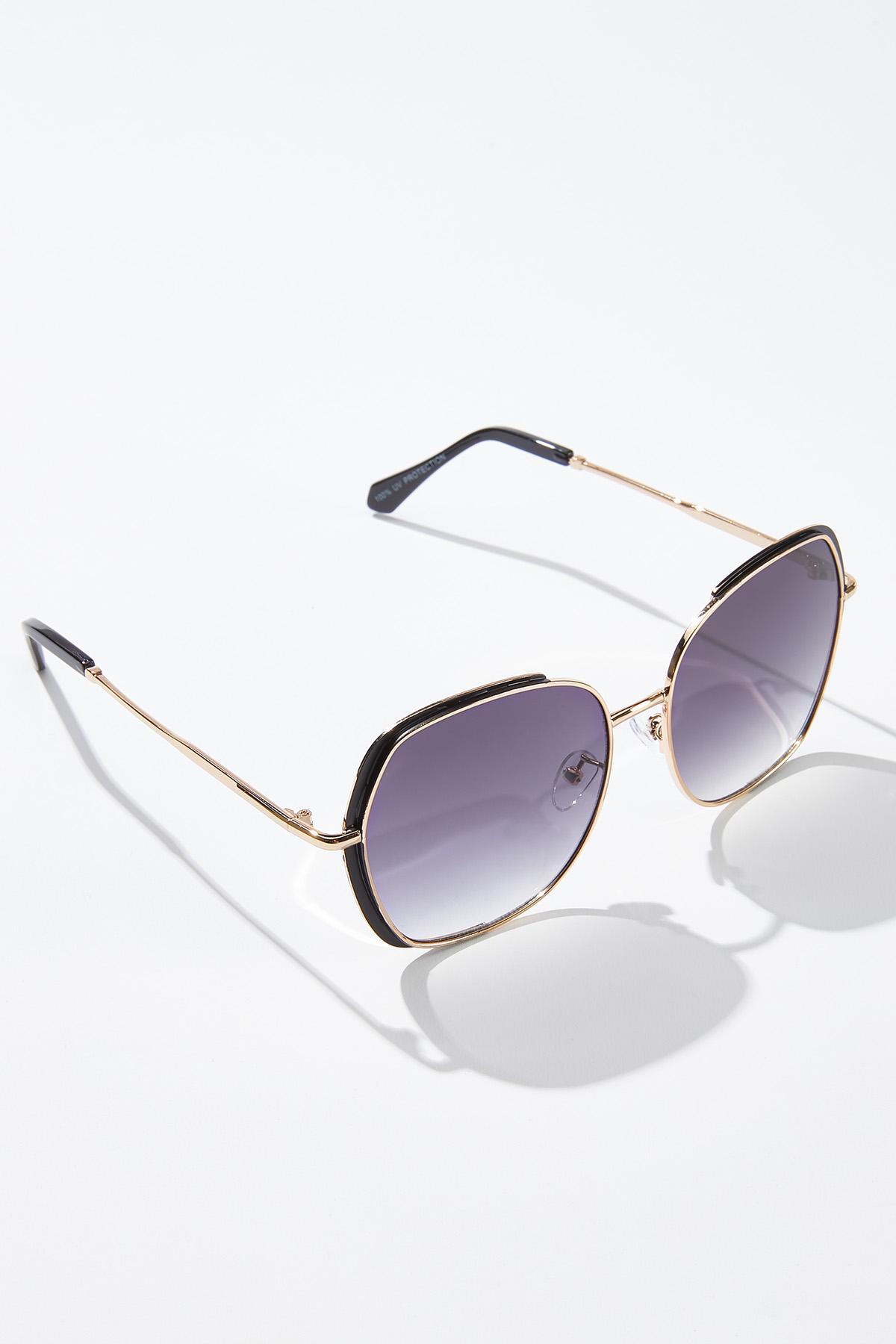 Black Gold Statement Sunglasses (Item #44735685)