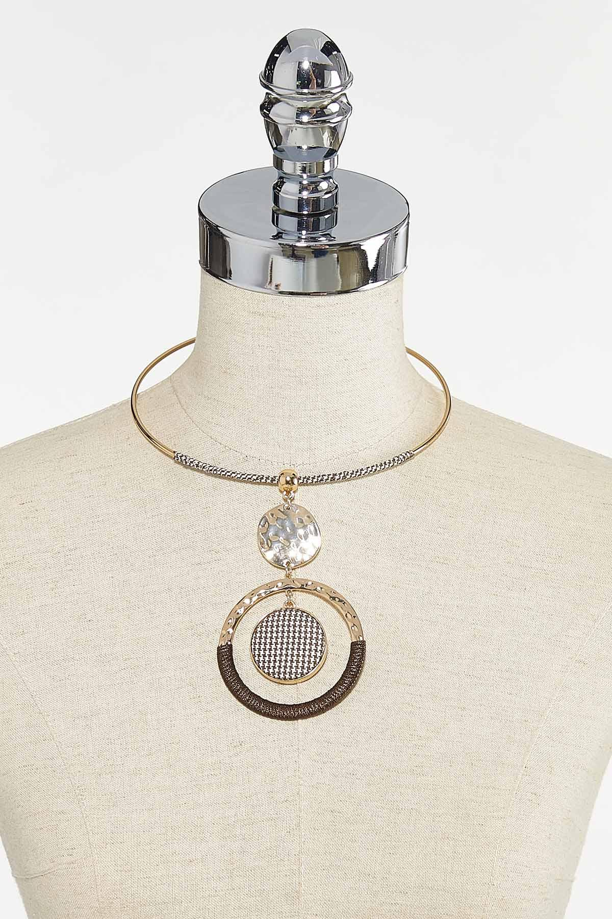 Houndstooth Wire Necklace (Item #44736457)