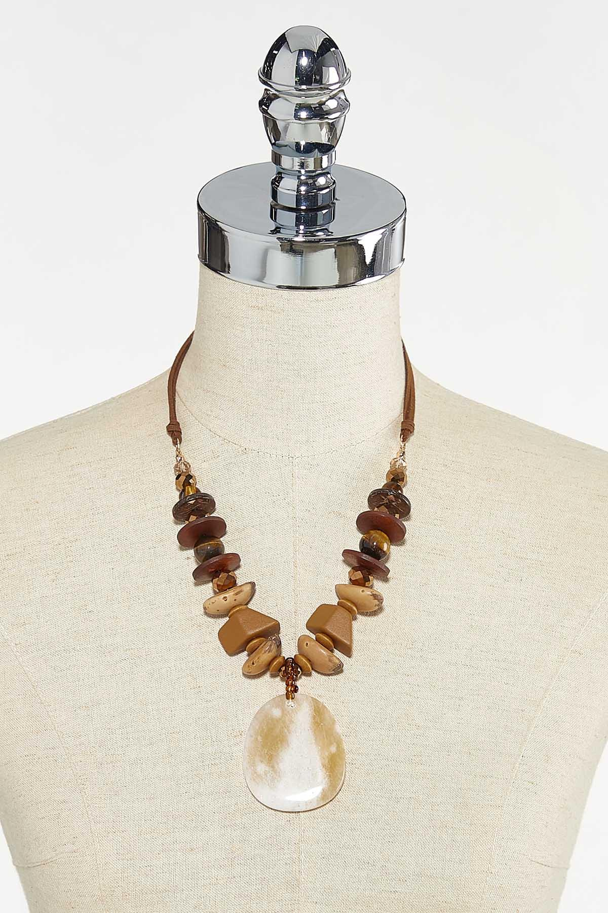 Down To Earth Cord Necklace (Item #44736627)