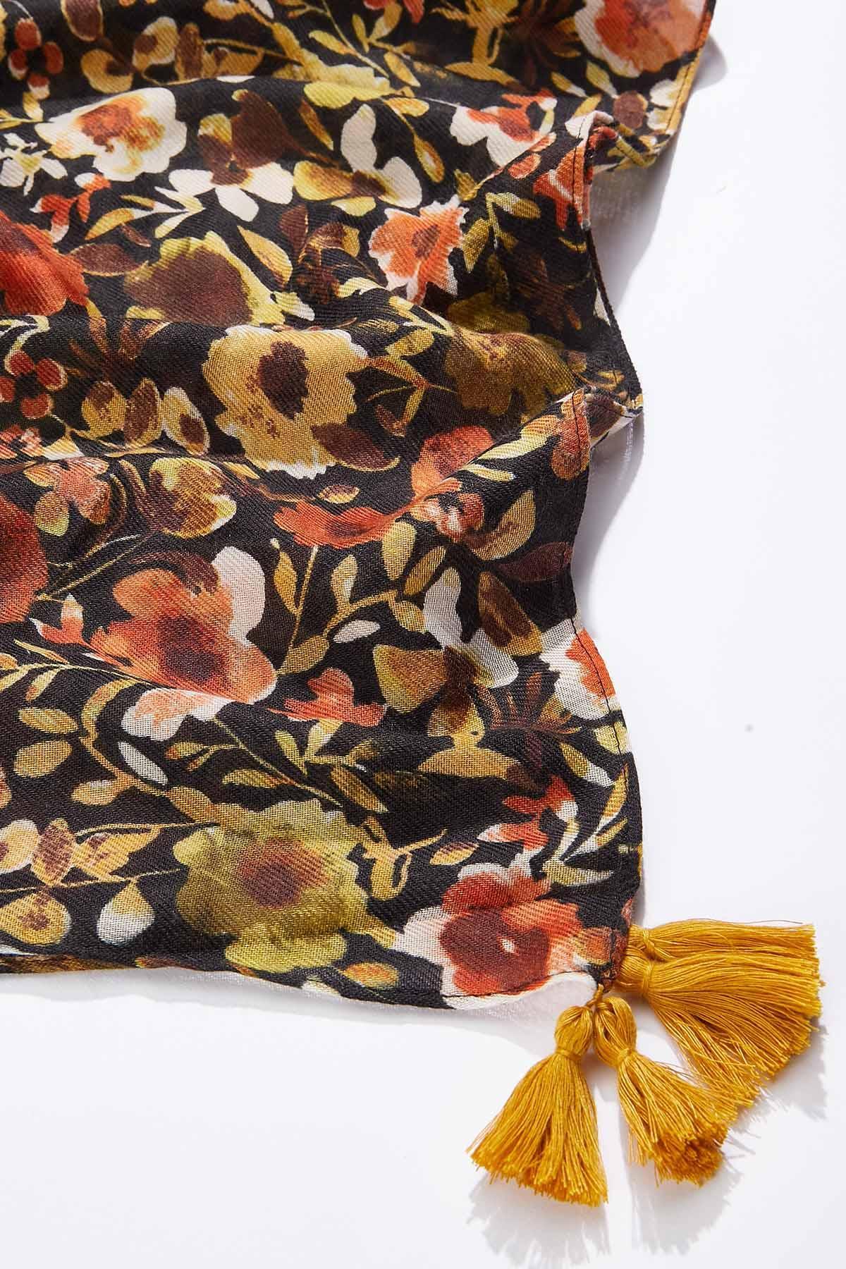 Floral Garden Oblong  Scarf (Item #44738783)