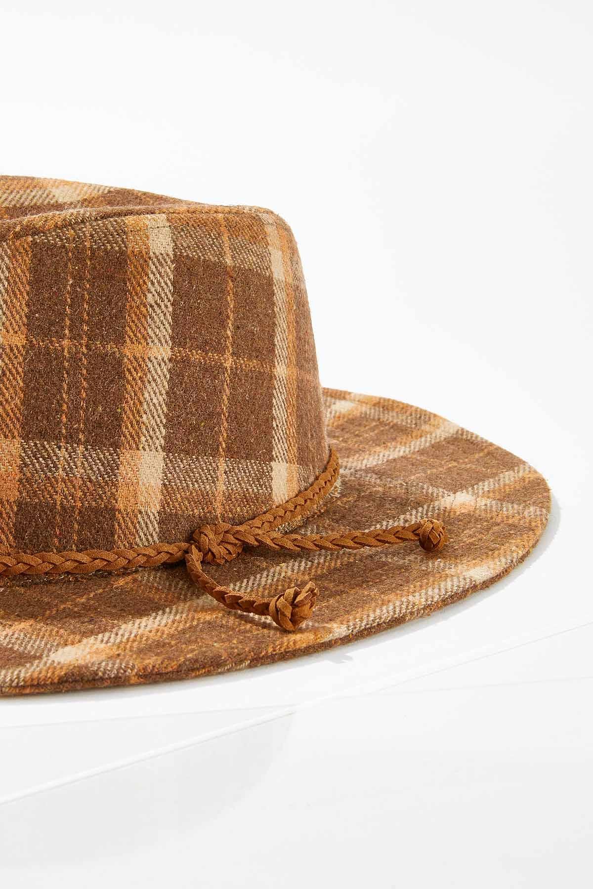 Plaid Panama Hat (Item #44739593)