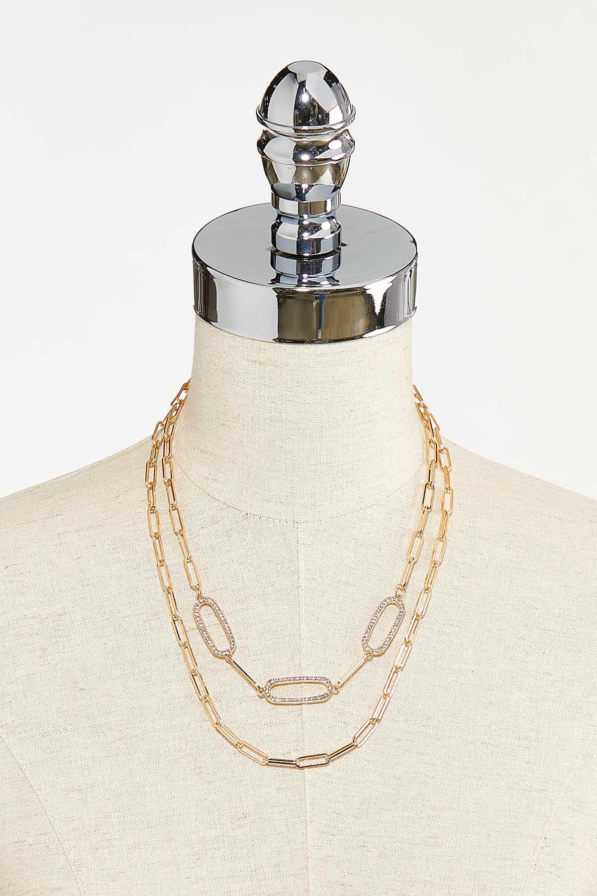 Layered Chain Necklace (Item #44741920)
