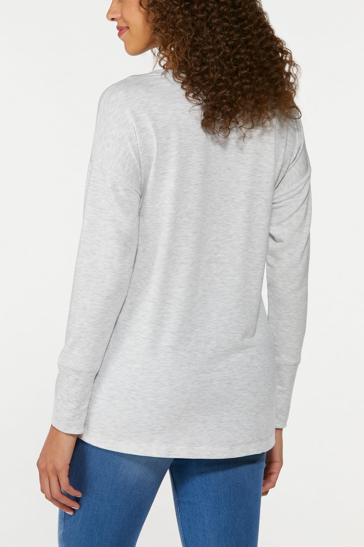 Plus Size Thankful Sweatshirt (Item #44744489)