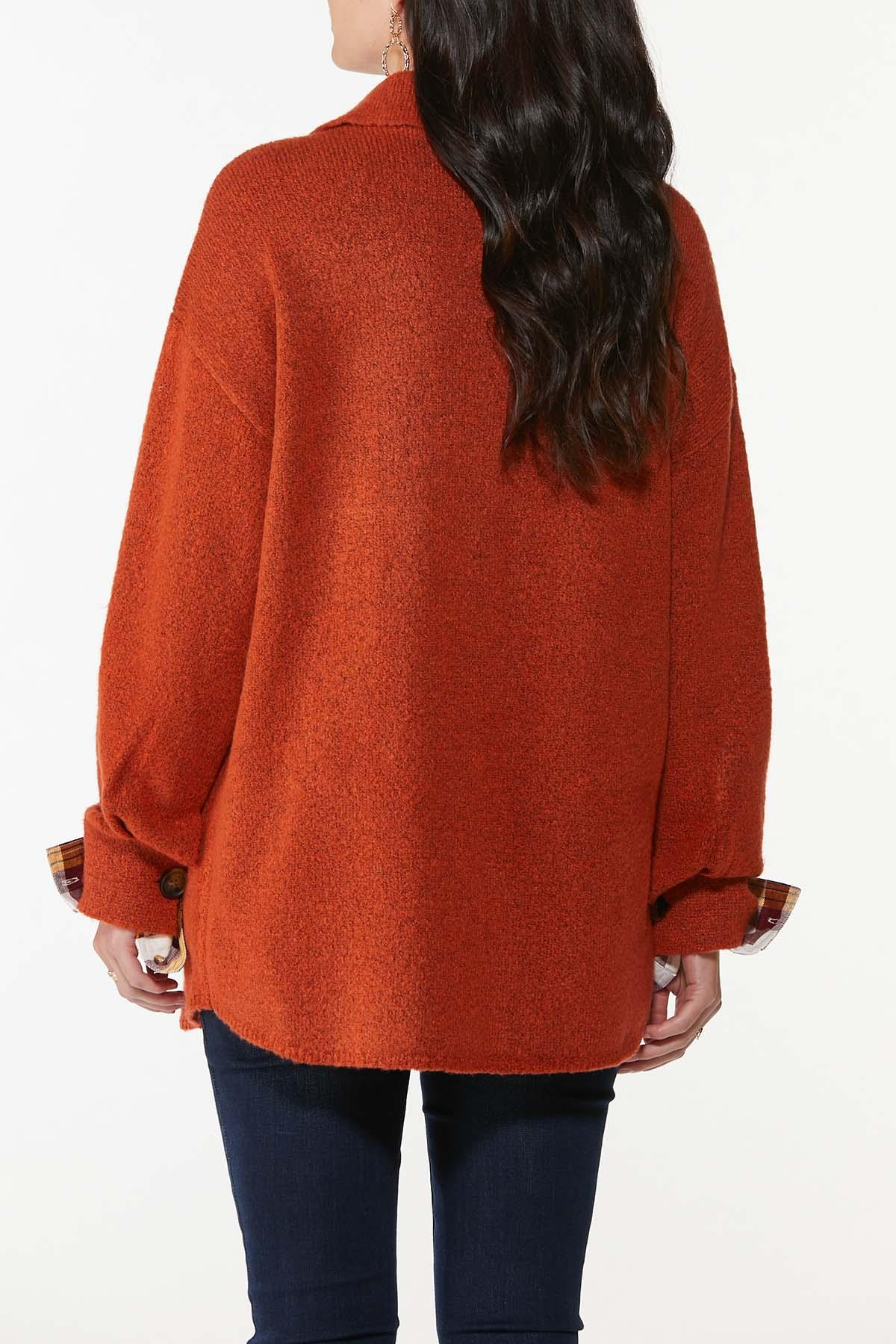 Plus Size Fireside Cardigan Sweater (Item #44746236)