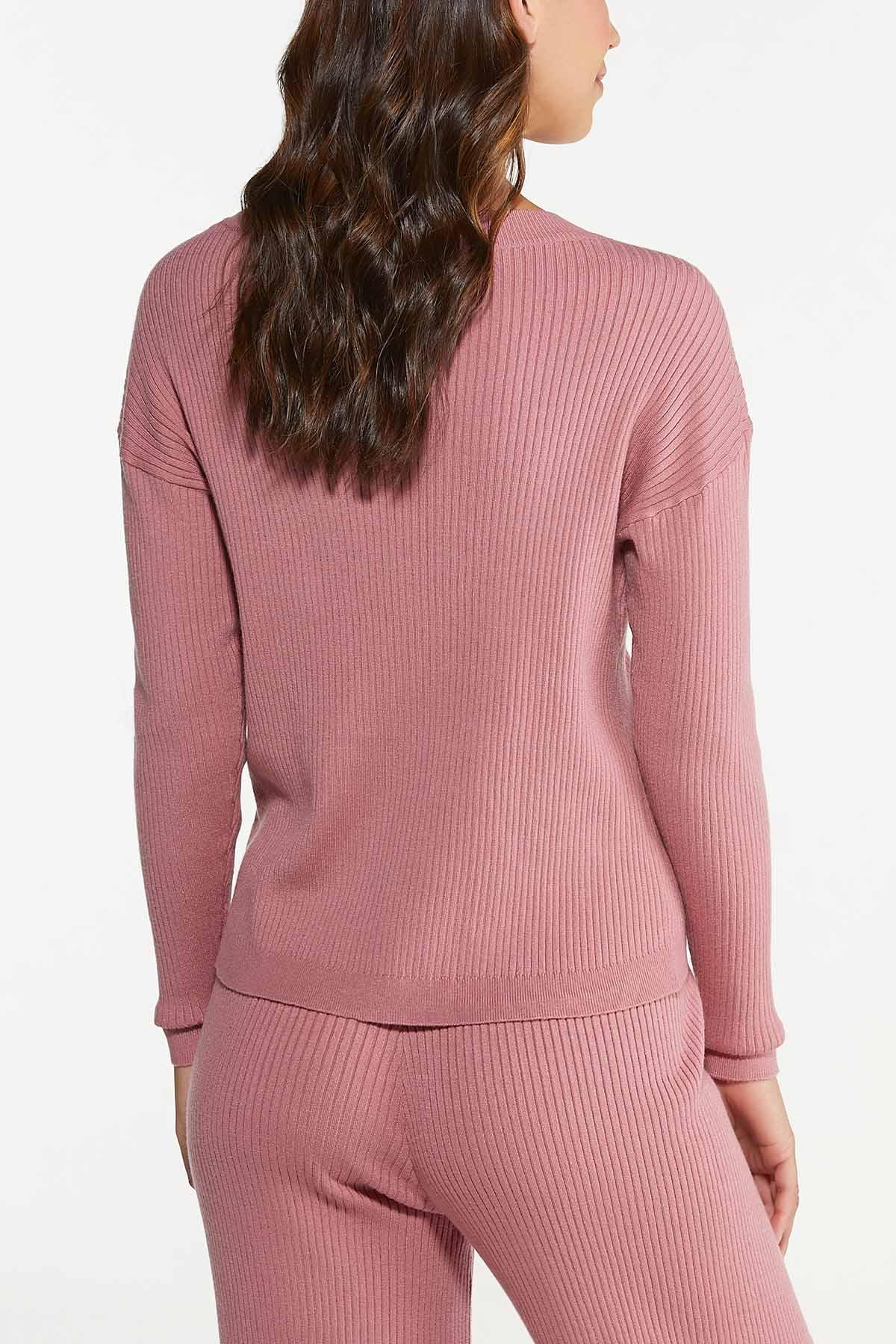 Ribbed Pullover Sweater (Item #44748797)