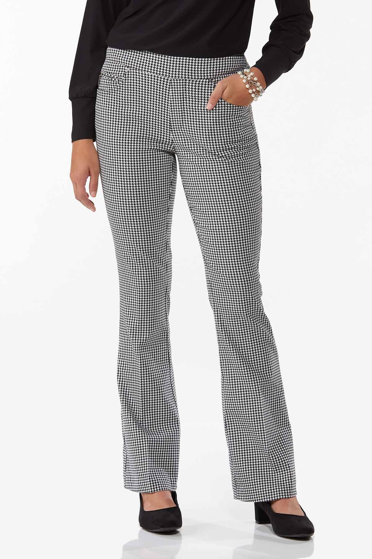 Houndstooth Pull-On Pants (Item #44756577)