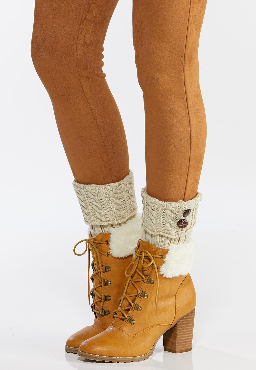 Double Button Boot Cuffs (Item #44756662)