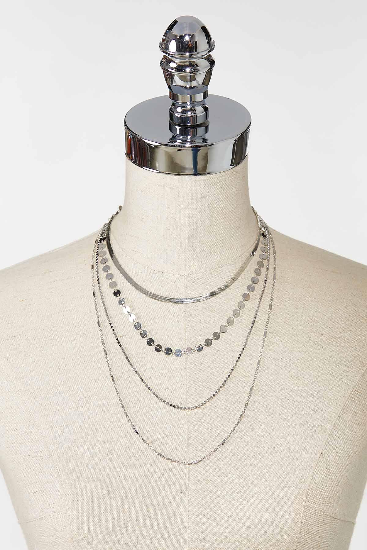 Delicate Layered Necklace (Item #44757462)