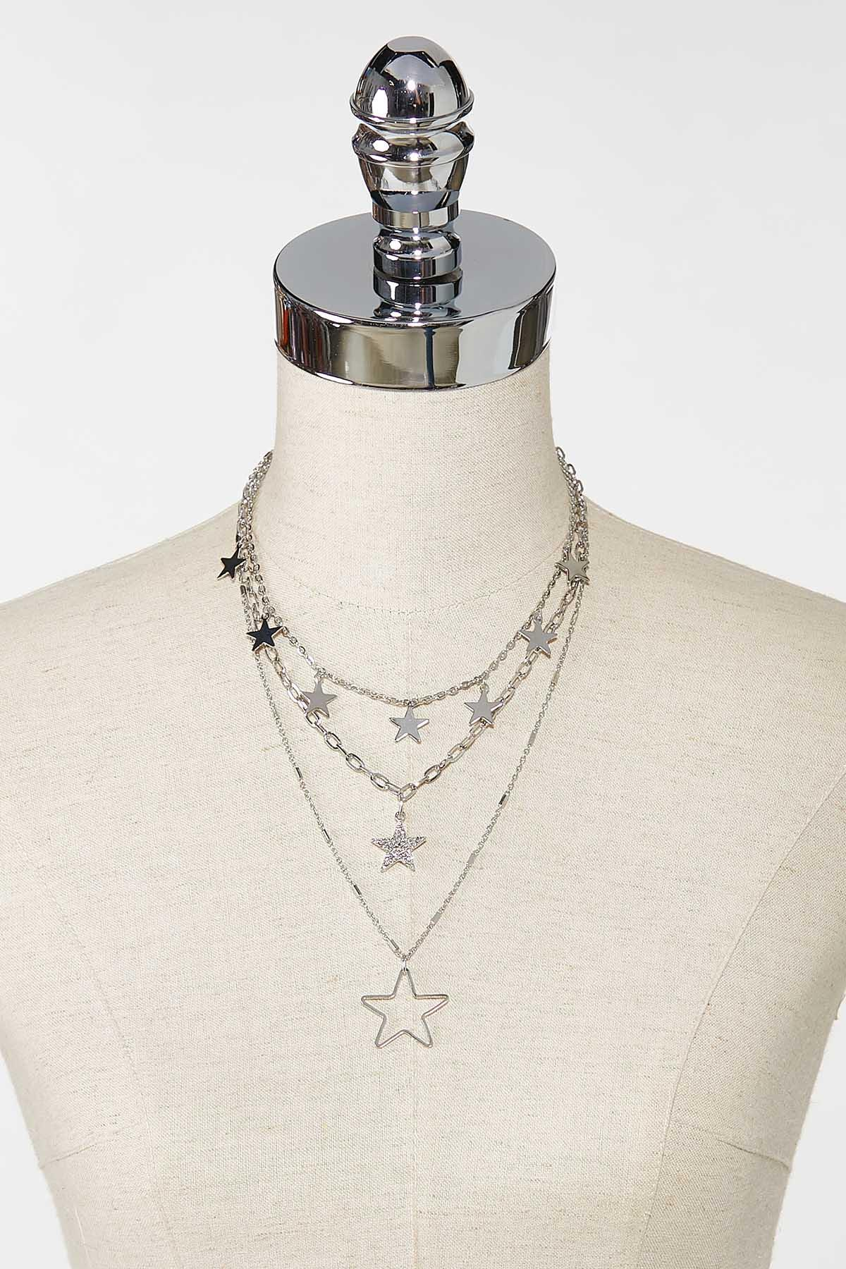 Layered Star Necklace (Item #44757465)
