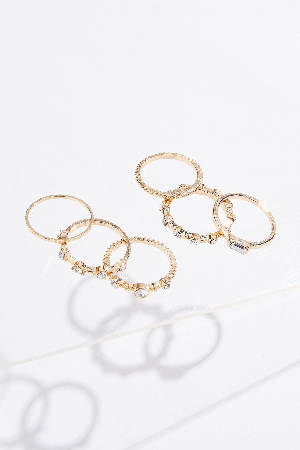 Mixed Stone Ring Set (Item #44757549)