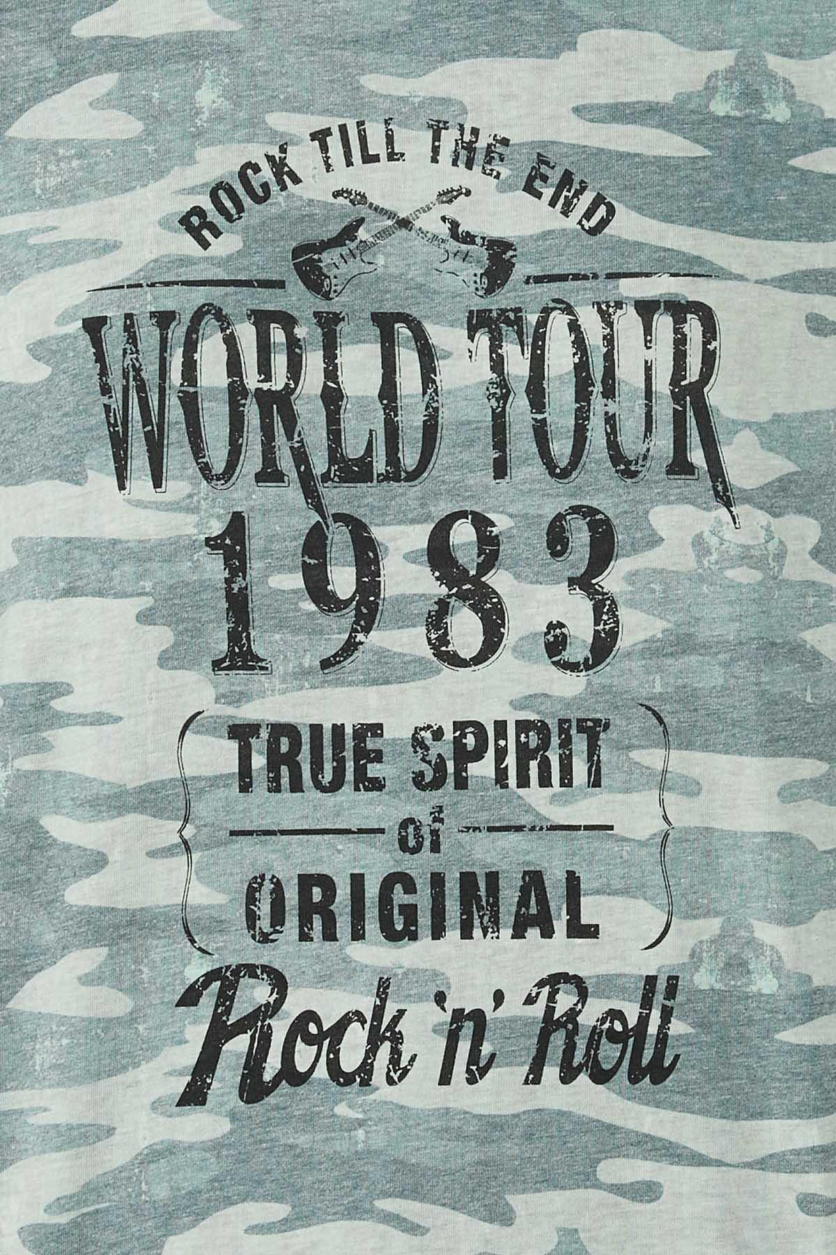 Plus Size World Tour Camo Tee (Item #44757780)