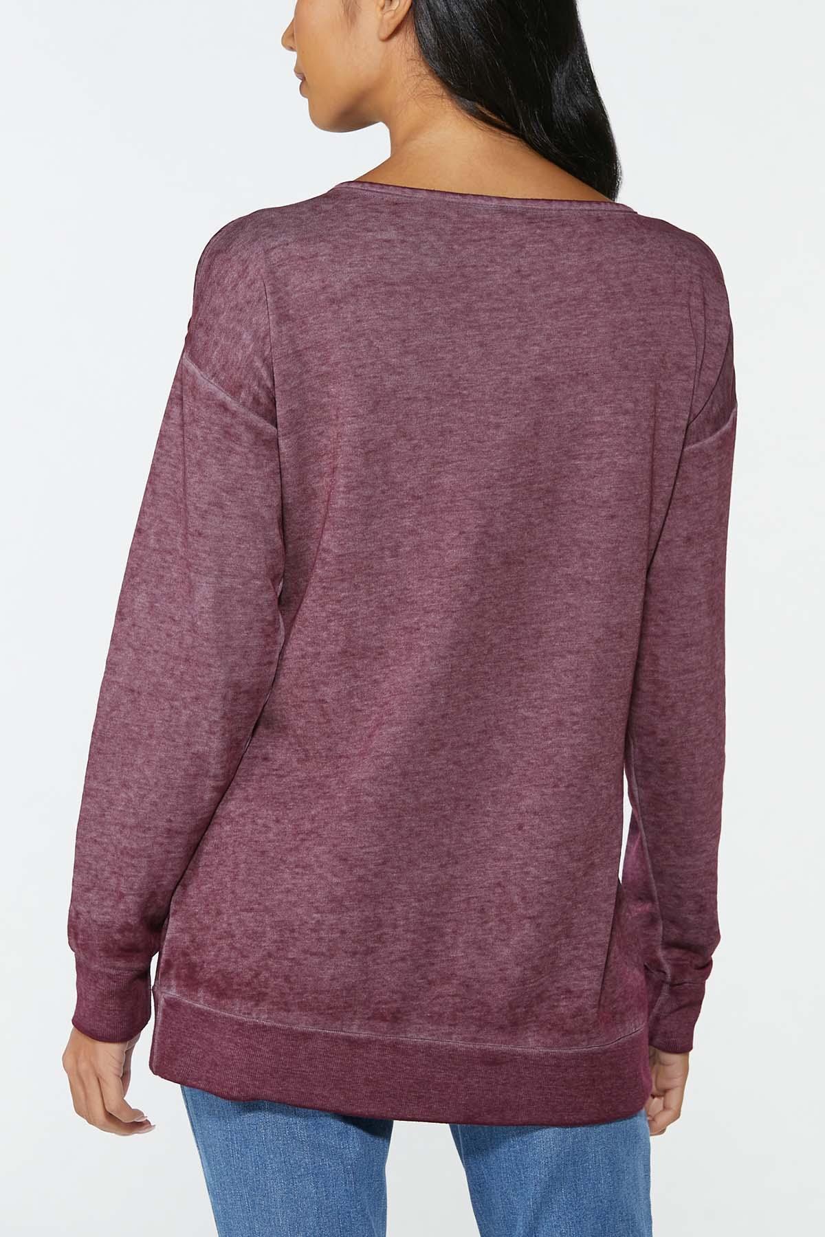 Faith Cold Shoulder Sweatshirt (Item #44766610)