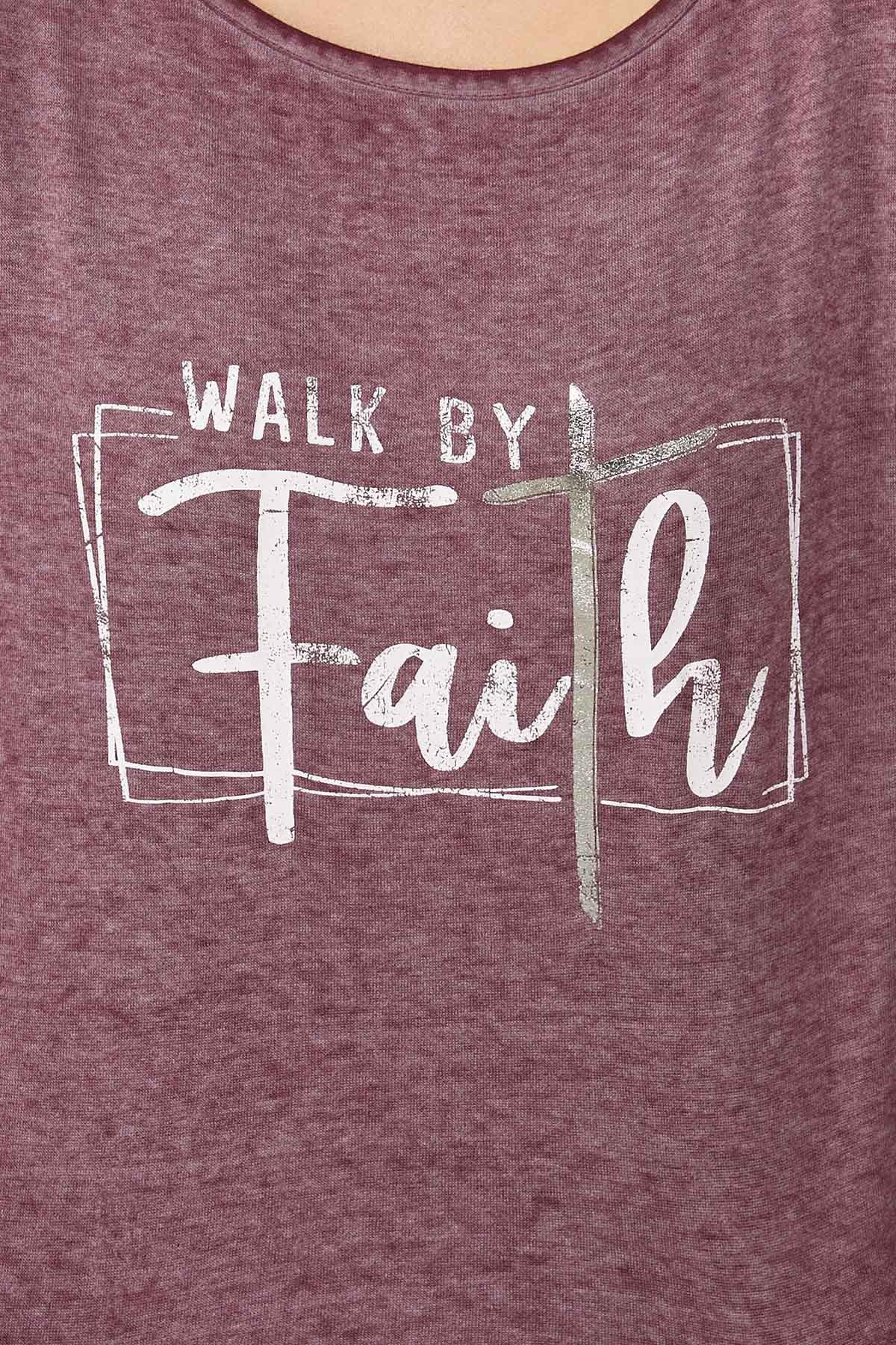Plus Size Faith Cold Shoulder Sweatshirt (Item #44766620)