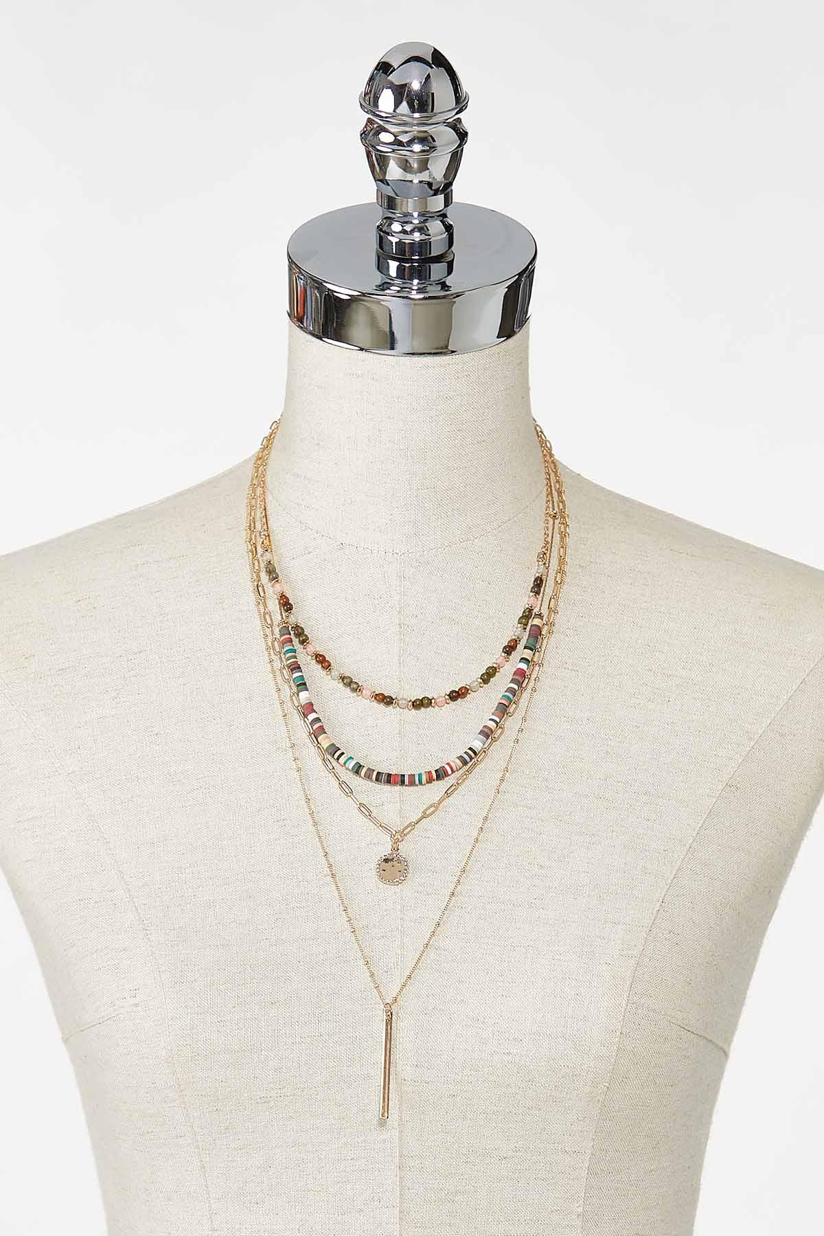 Layered Linear Bar Necklace (Item #44769298)