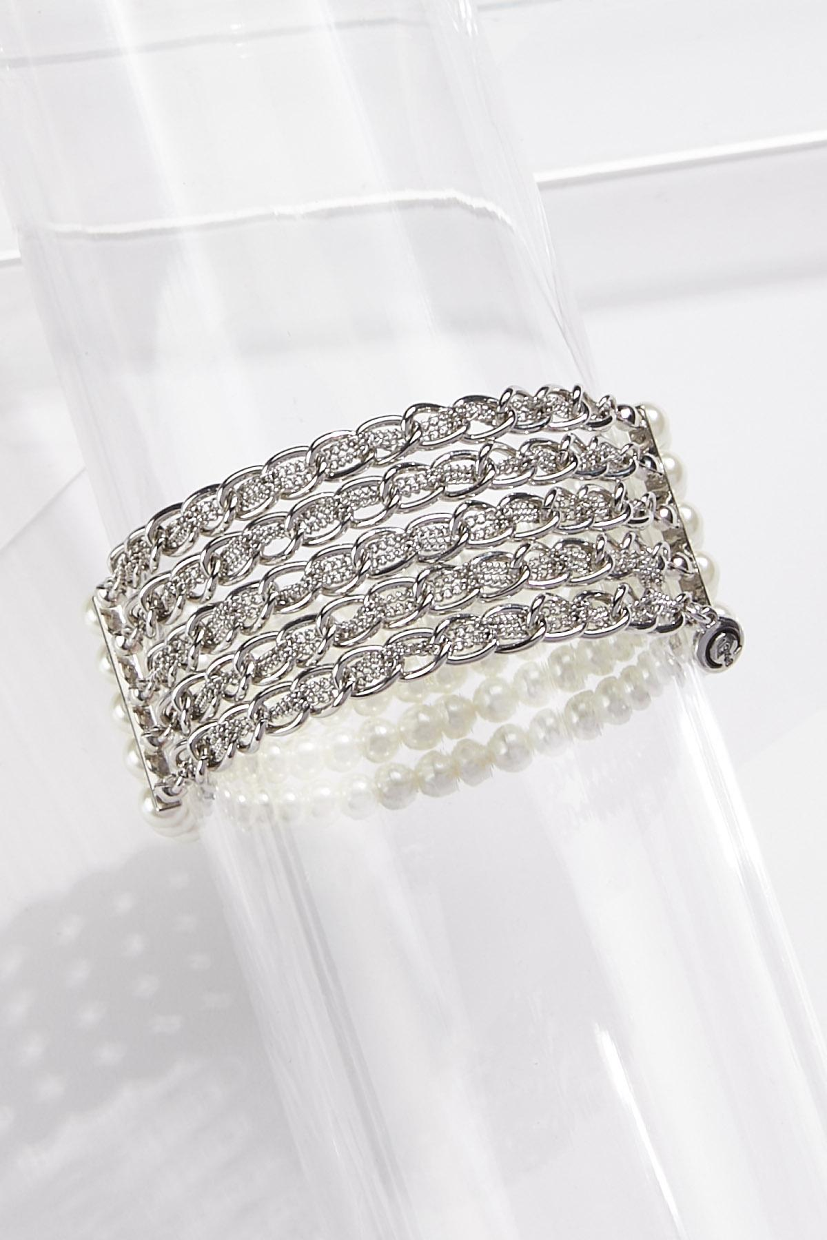 Layered Glam Stretch Bracelet (Item #44771326)