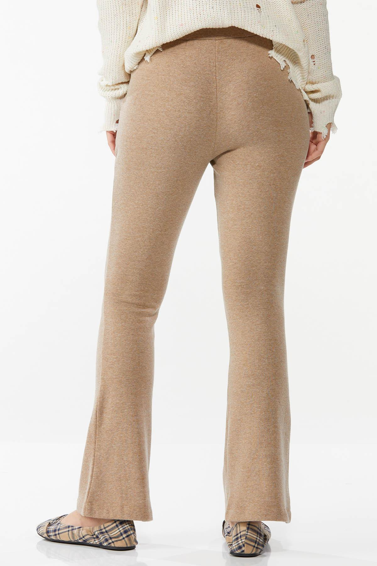 Petite Tan Fleece Pants (Item #44773409)