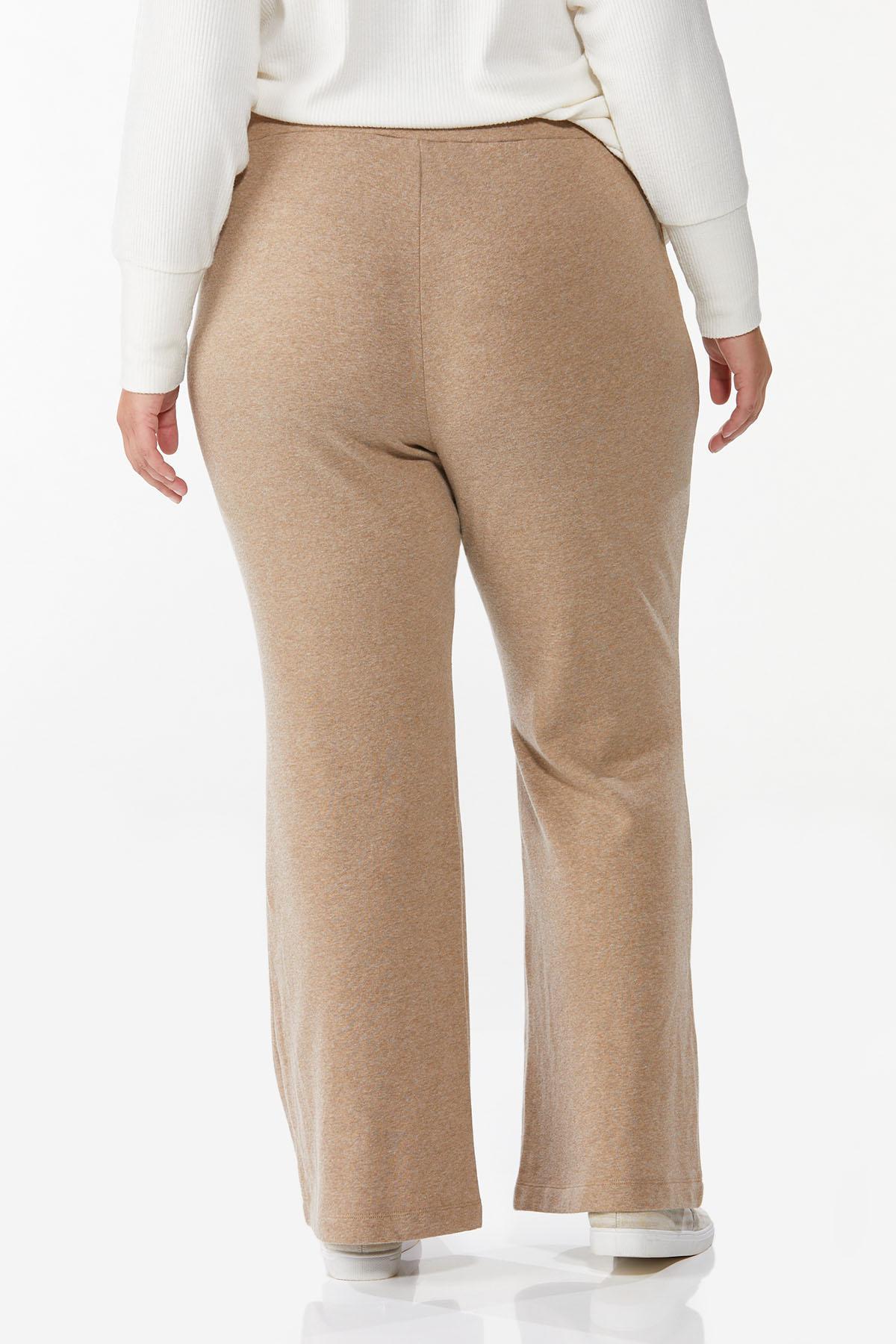 Plus Petite Tan Fleece Pants (Item #44773556)