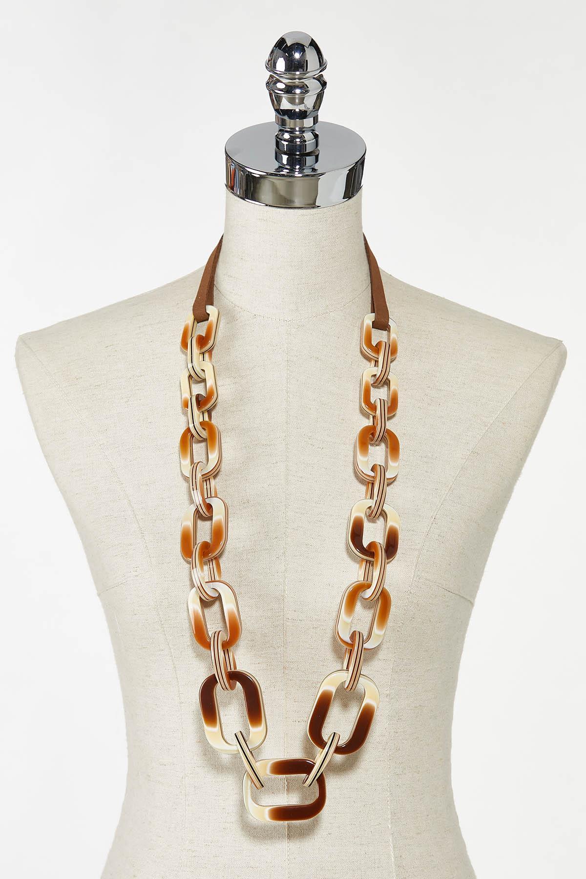 Lucite Link Necklace (Item #44774155)