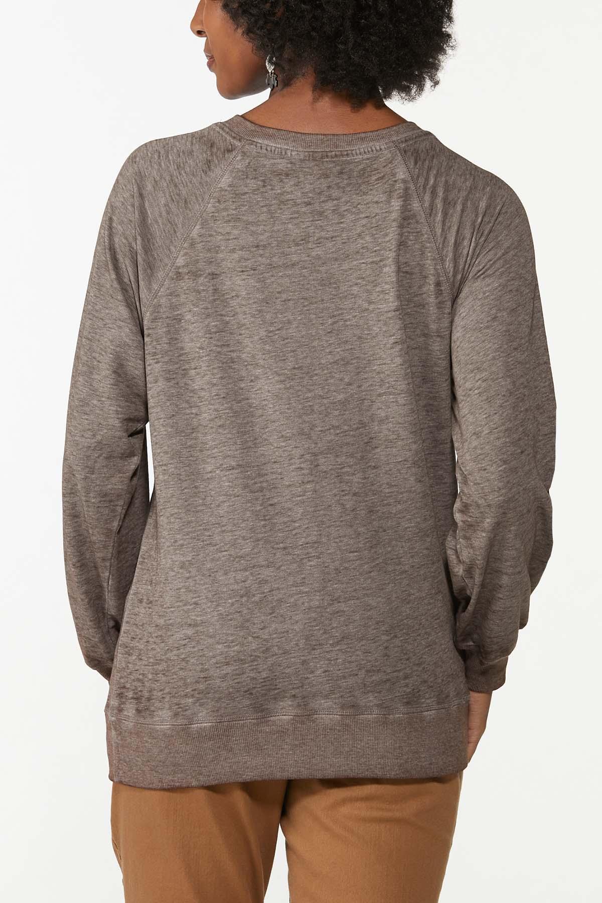 Glittery Thankful Sweatshirt (Item #44781719)