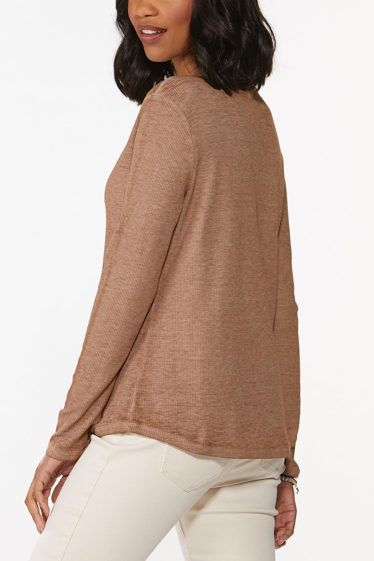 Plus Size Pumpkin Spice Everything Top (Item #44781790)