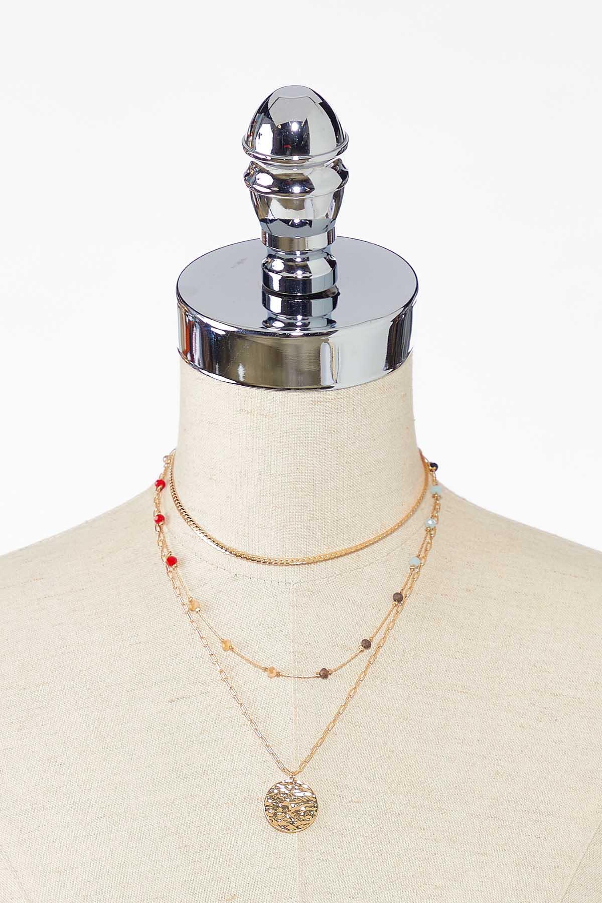 Delicate Multi Layer Necklace (Item #44783123)