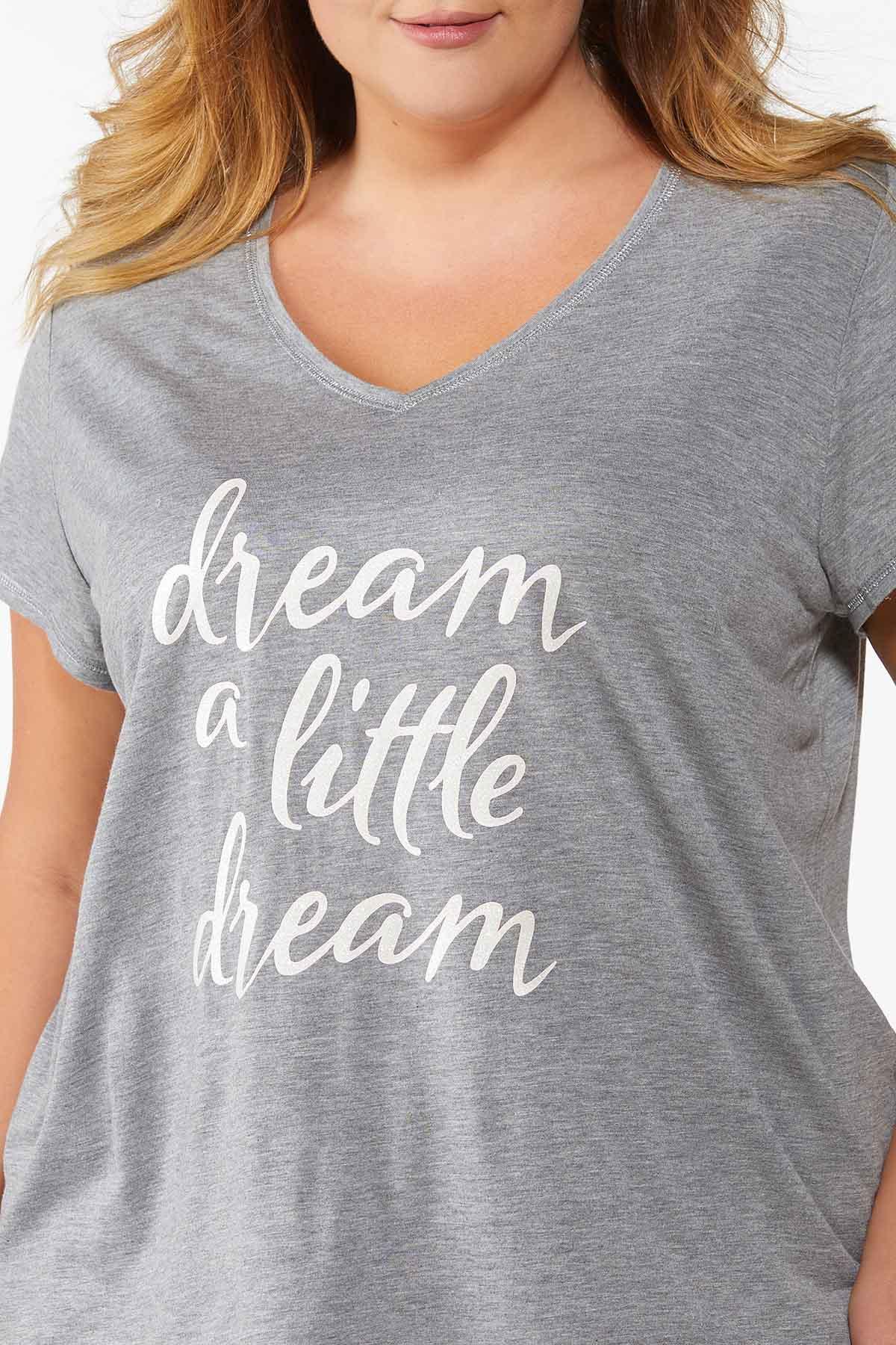 Plus Size Dream A Little Dream Tee (Item #44787571)