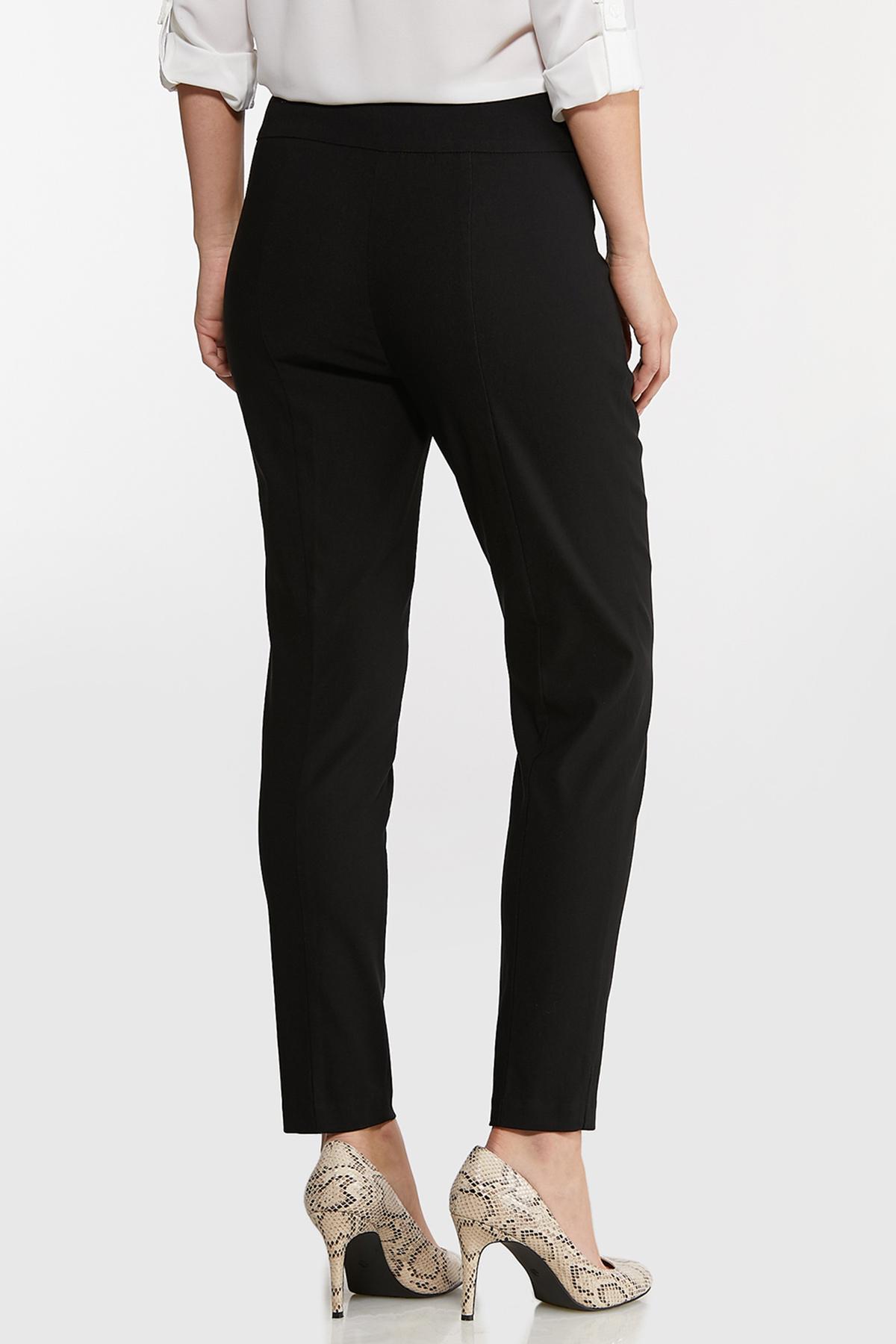 Solid Bengaline Slim Pants (Item #44789726)